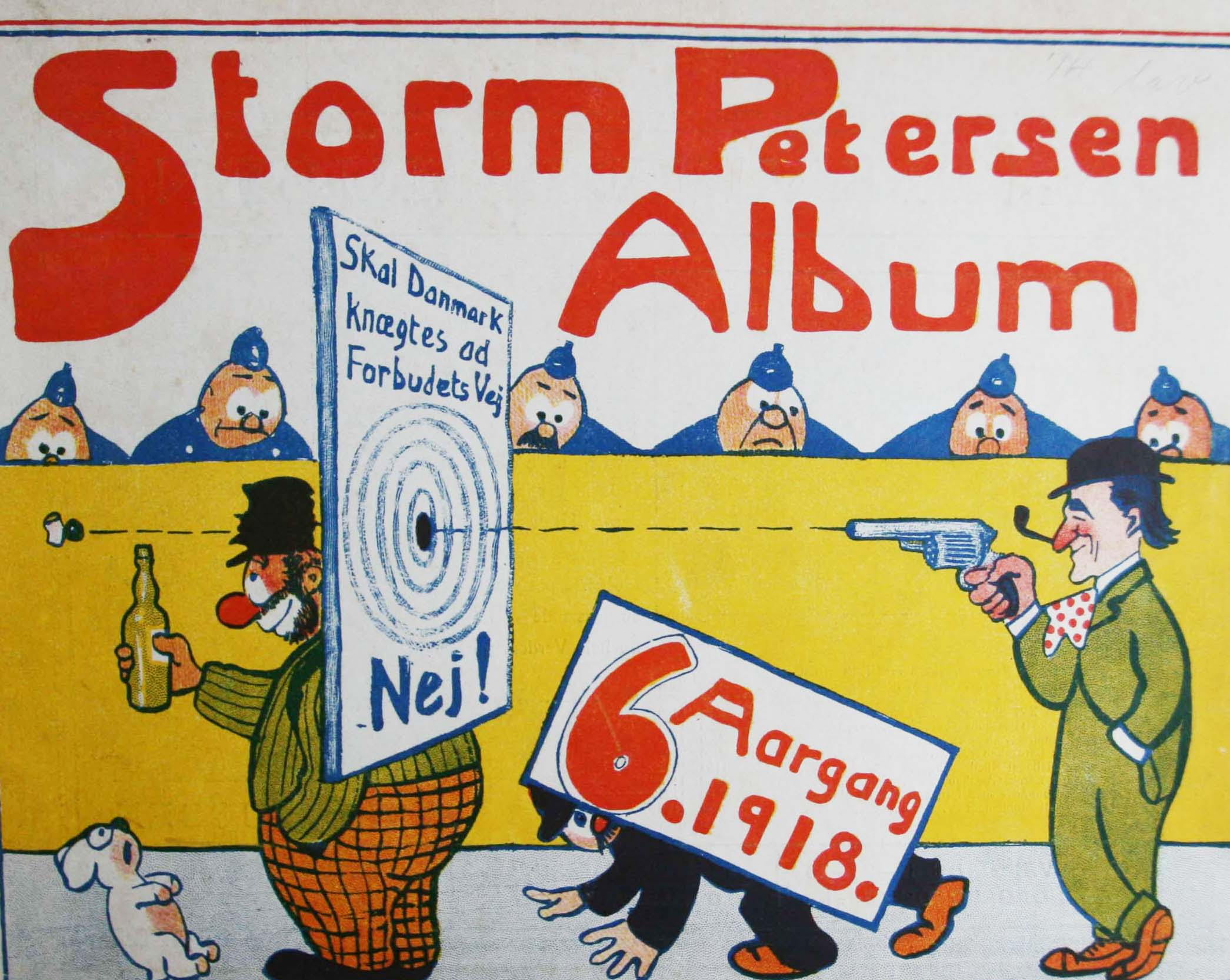 Robert Storm Petersen Storm P. Album 1918