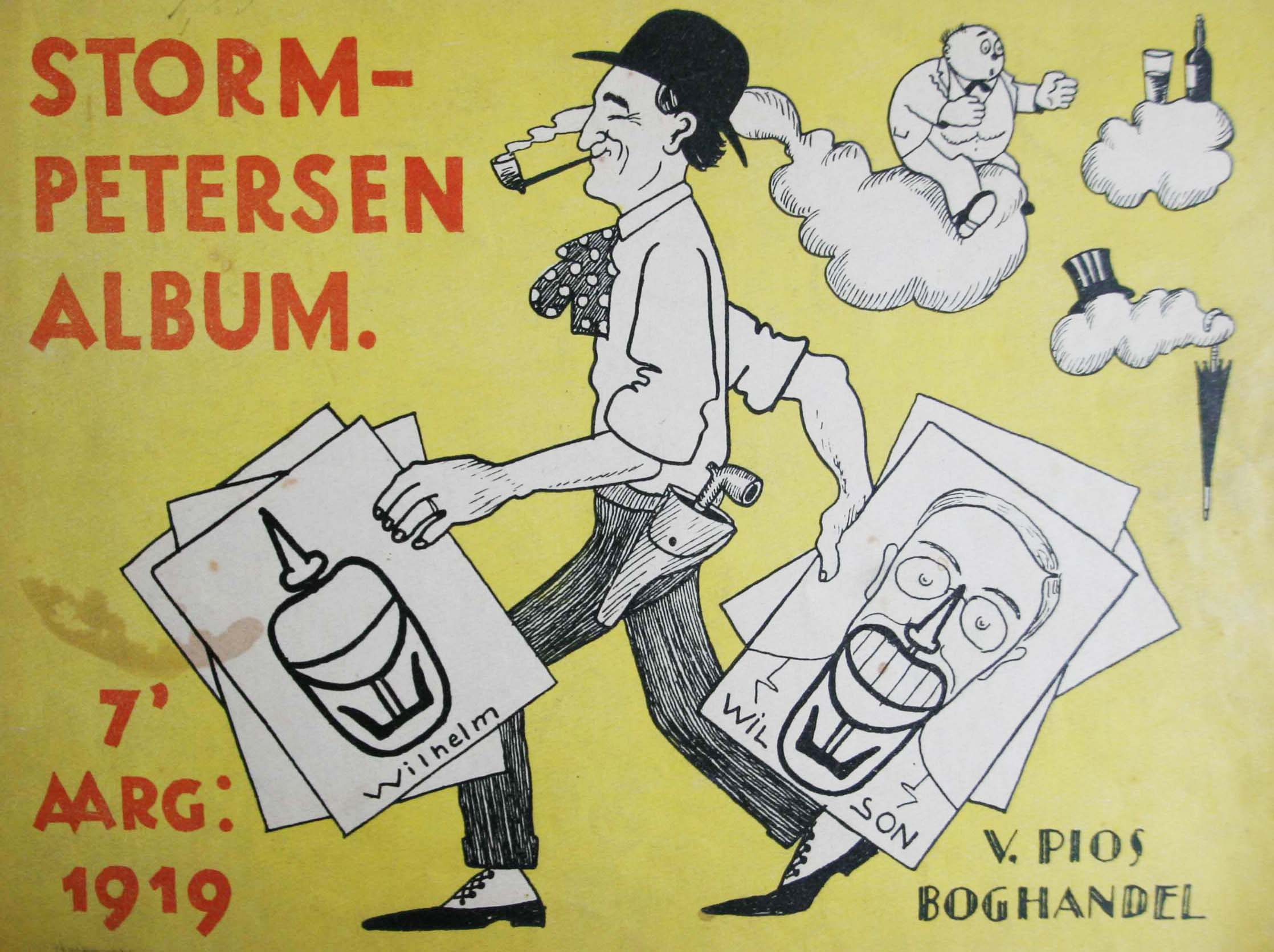 Robert Storm Petersen Storm P. Album 1919