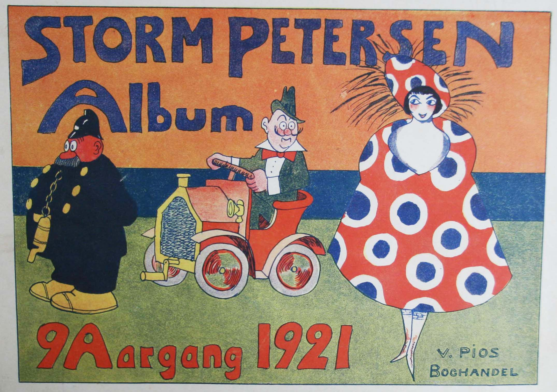 Robert Storm Petersen Storm P. Album 1921