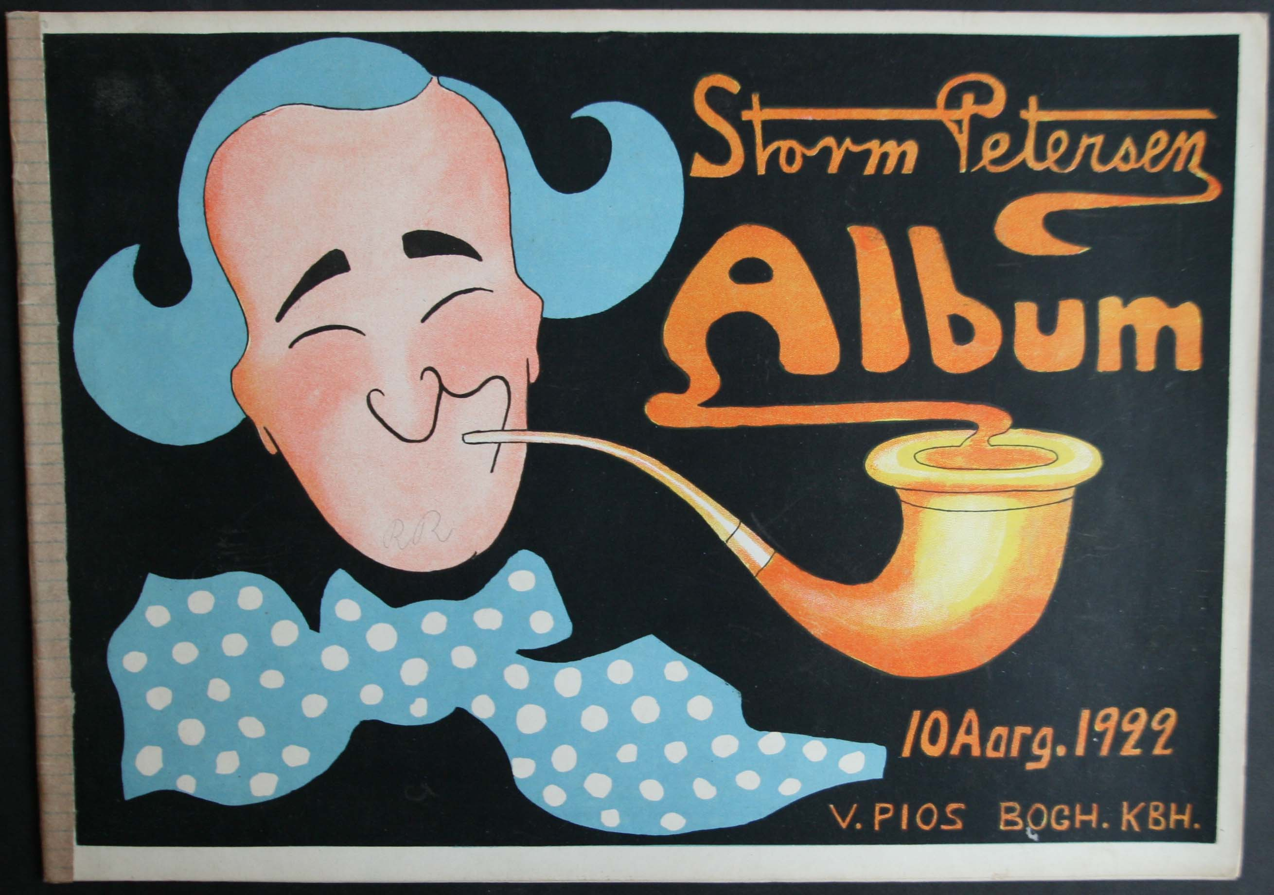 Robert Storm Petersen Storm P. Album 1922