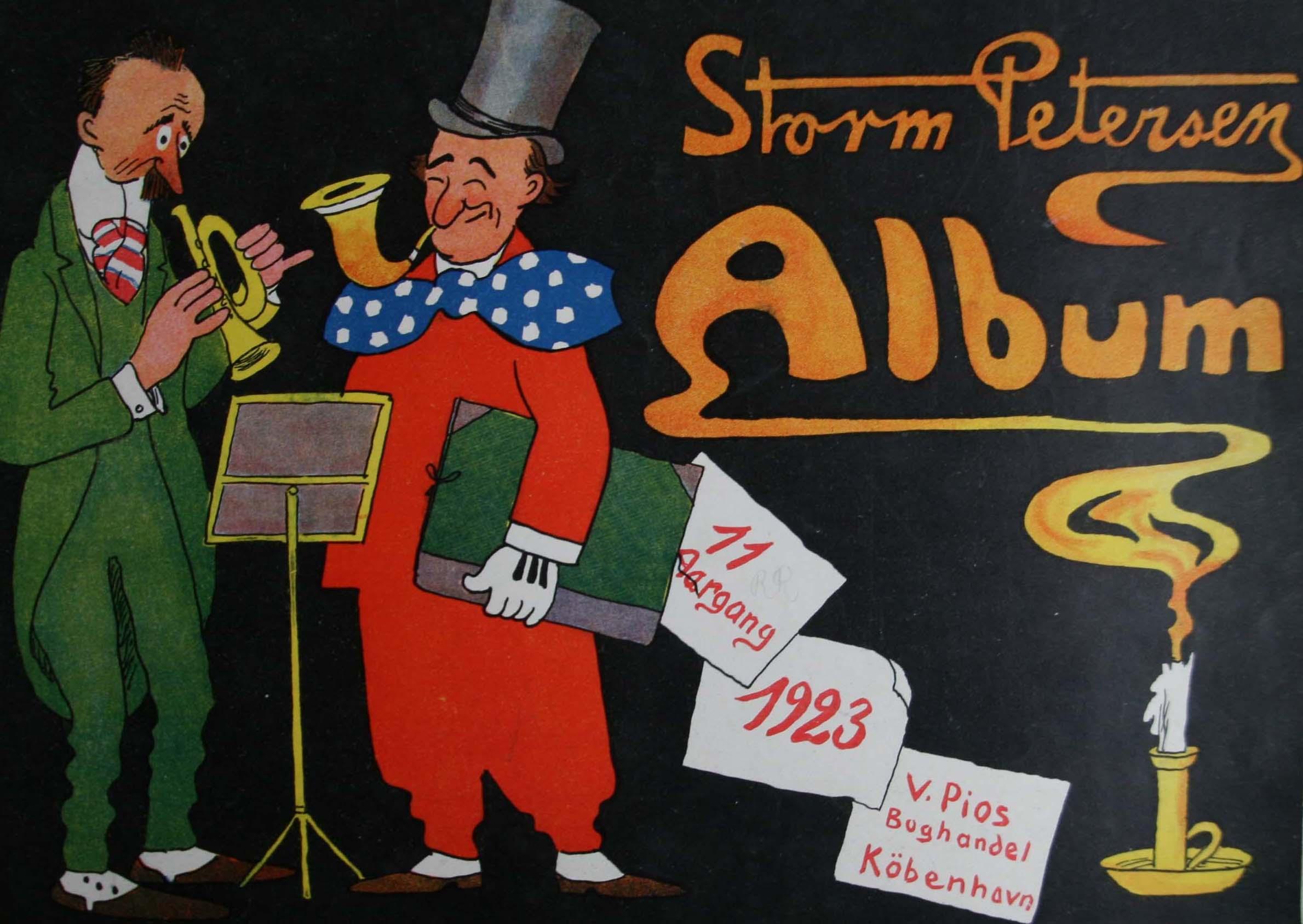 Robert Storm Petersen Storm P. Album 1923