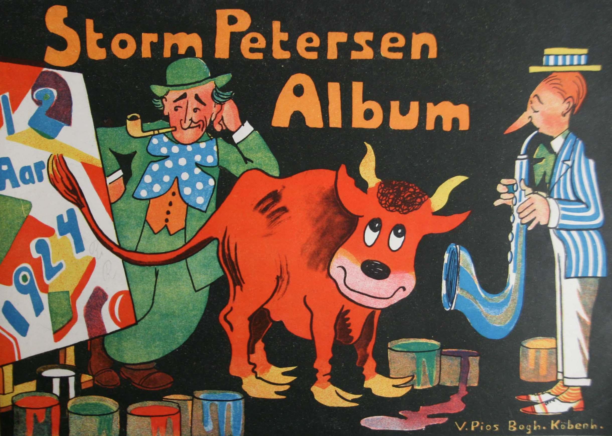 Robert Storm Petersen Storm P. Album 1924