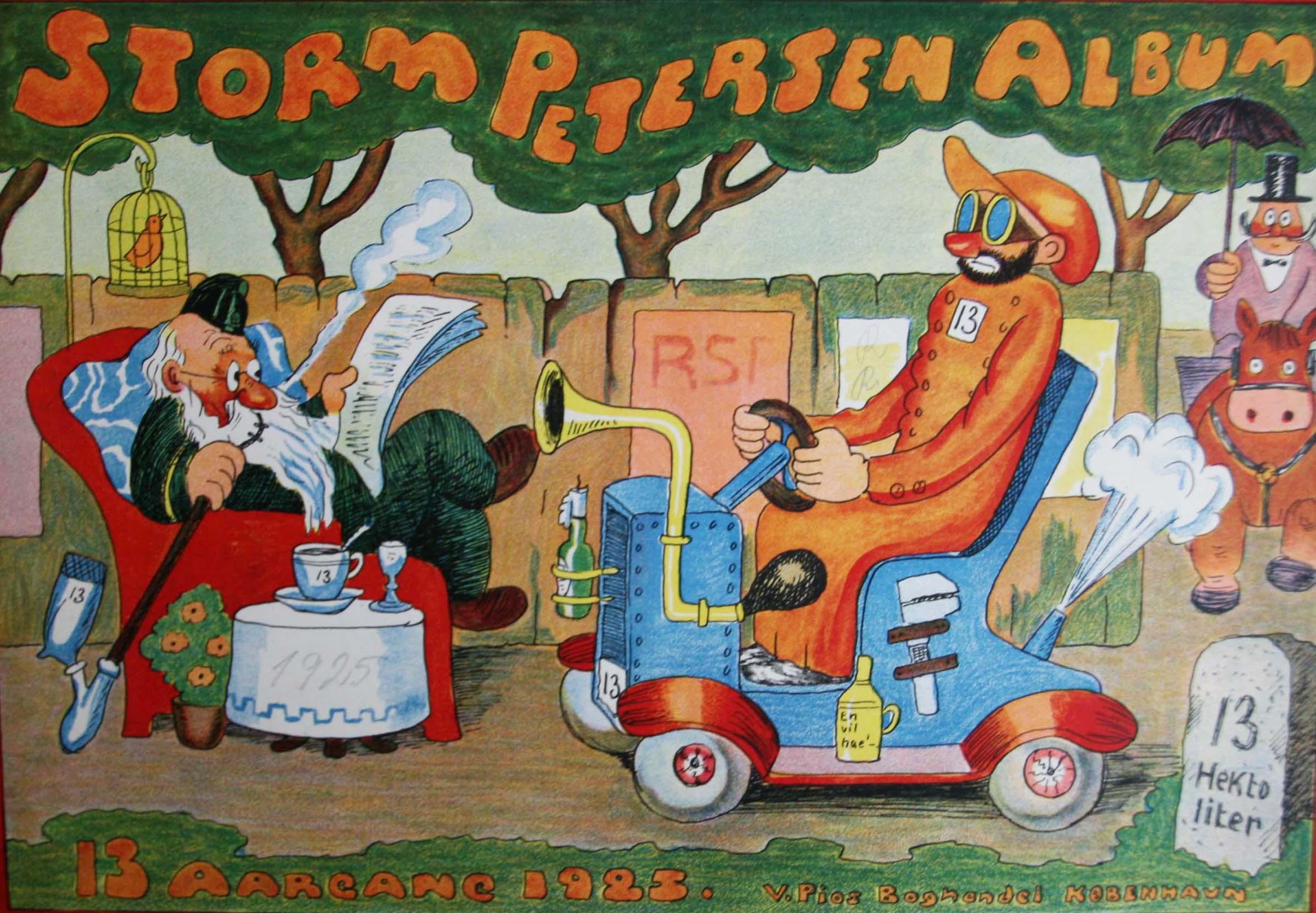 Robert Storm Petersen Storm P. Album 1925