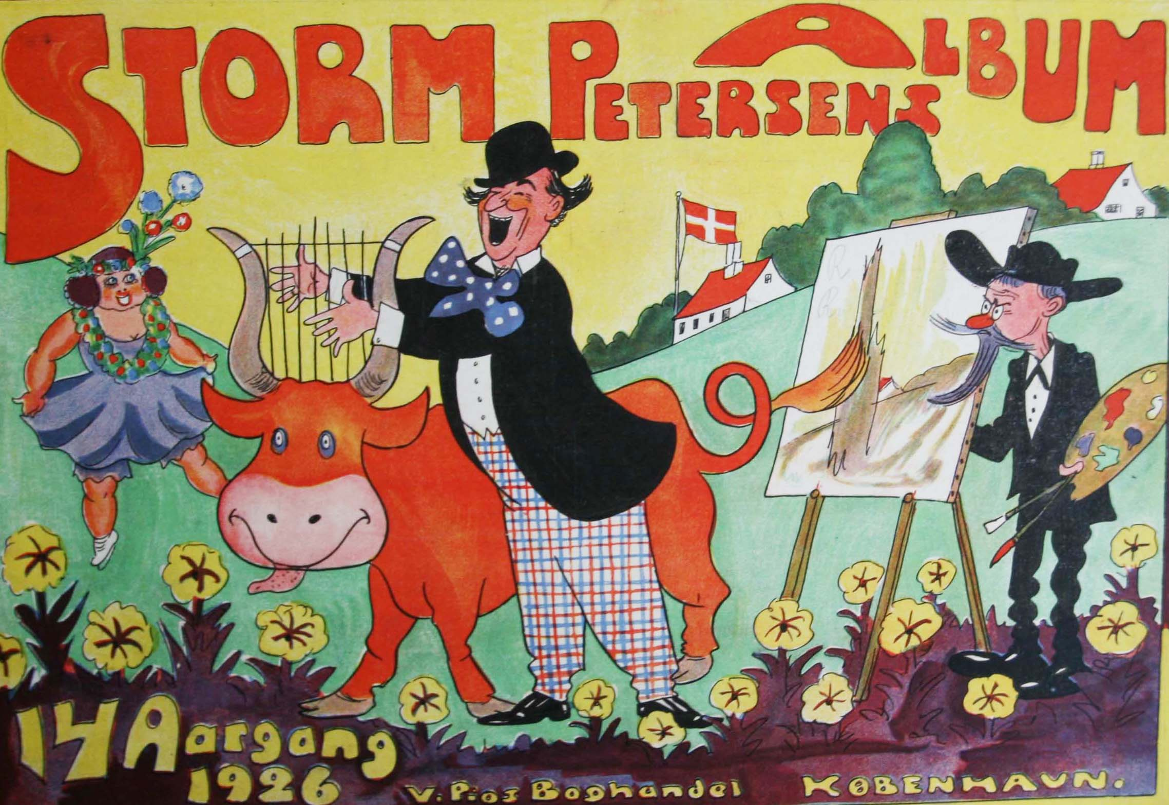 Robert Storm Petersen Storm P. Album 1926