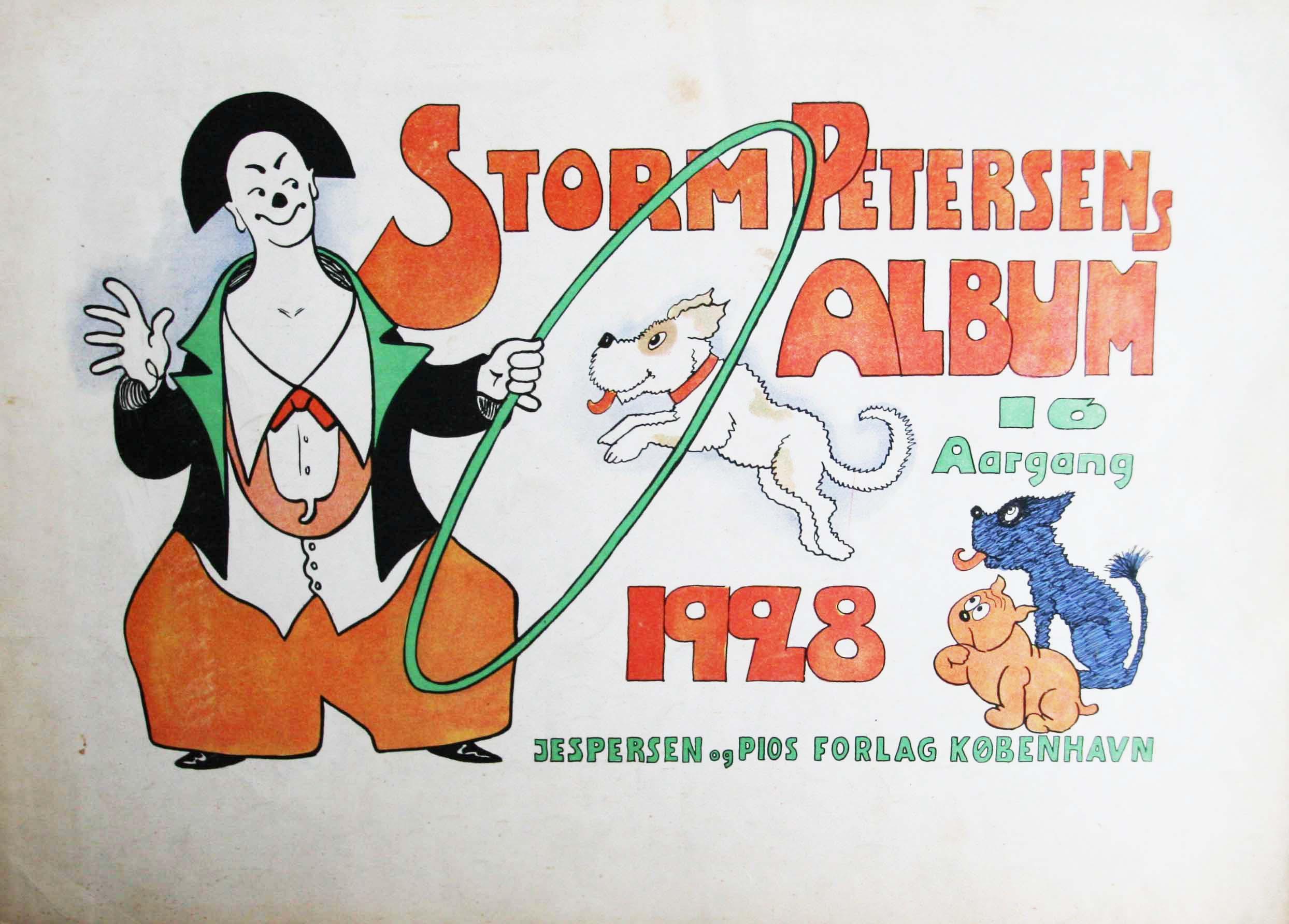 Robert Storm Petersen Storm P. Album 1928