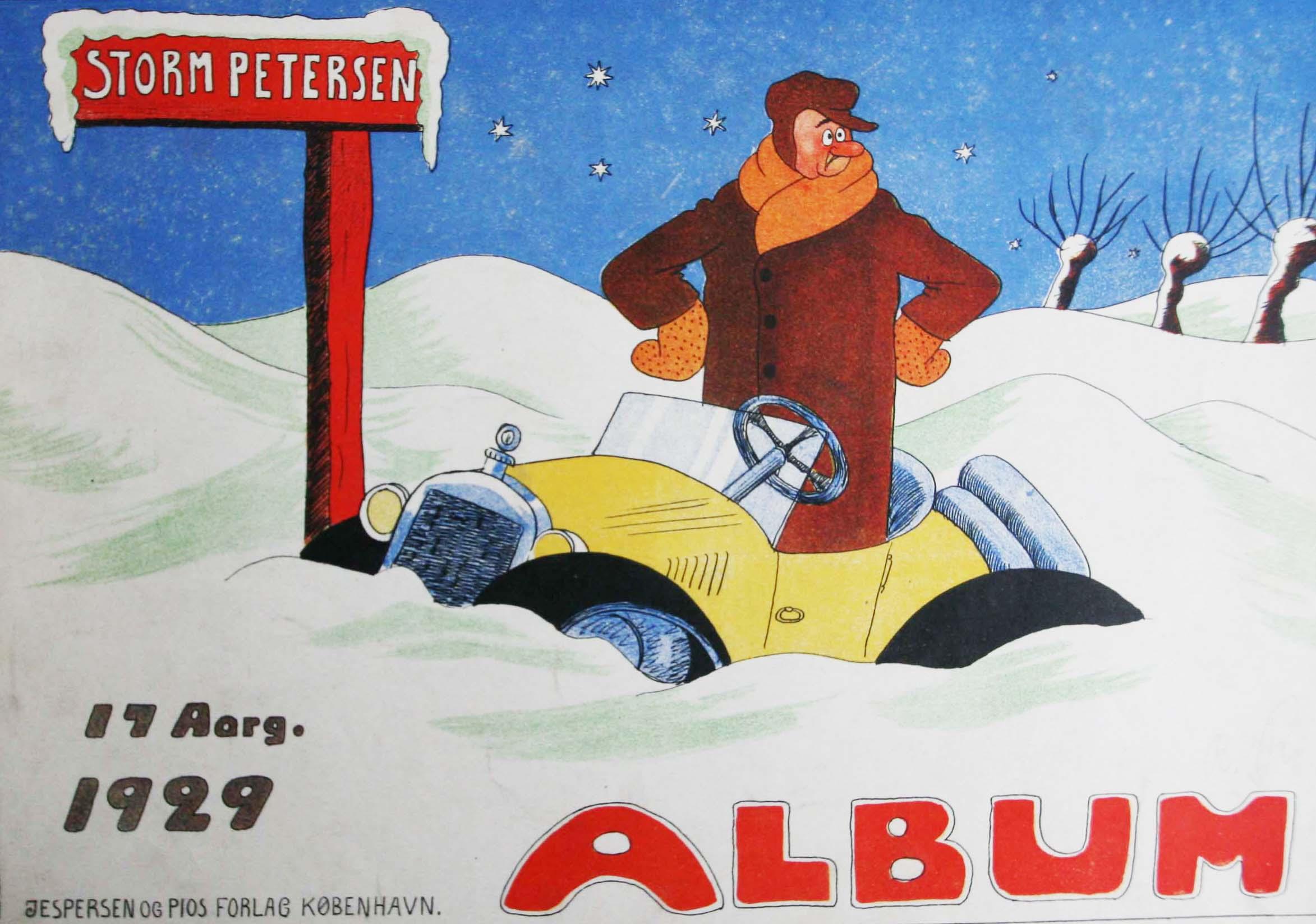 Robert Storm Petersen Storm P. Album 1929