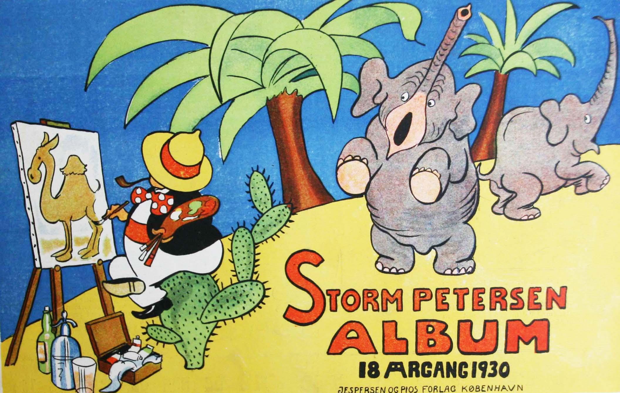 Robert Storm Petersen Storm P. Album 1930