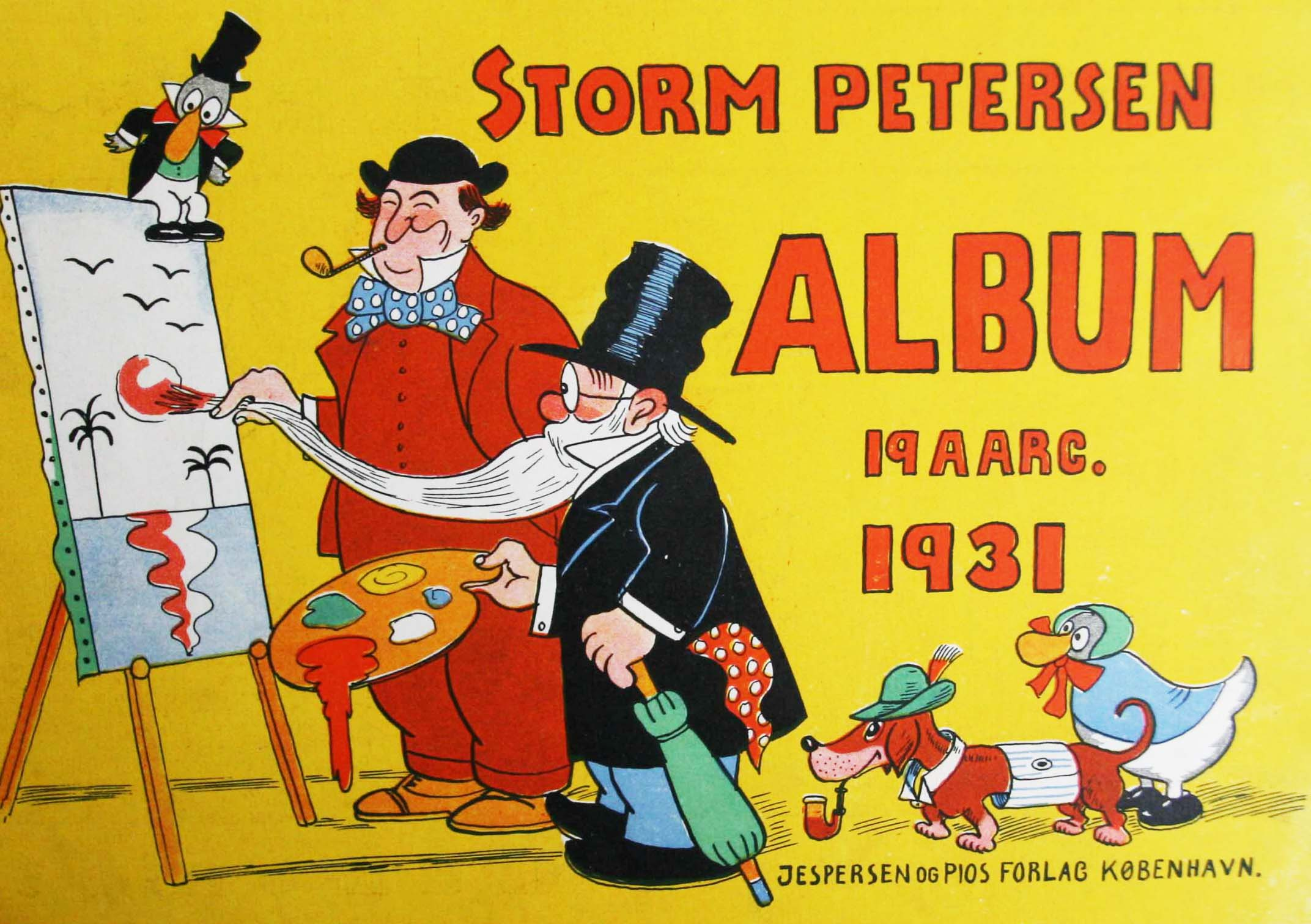 Robert Storm Petersen Storm P. Album 1931