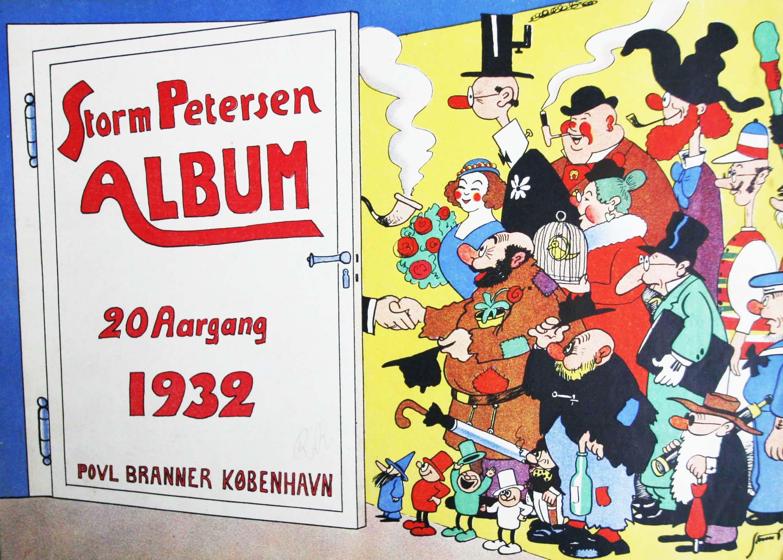 Robert Storm Petersen Storm P. Album 1932