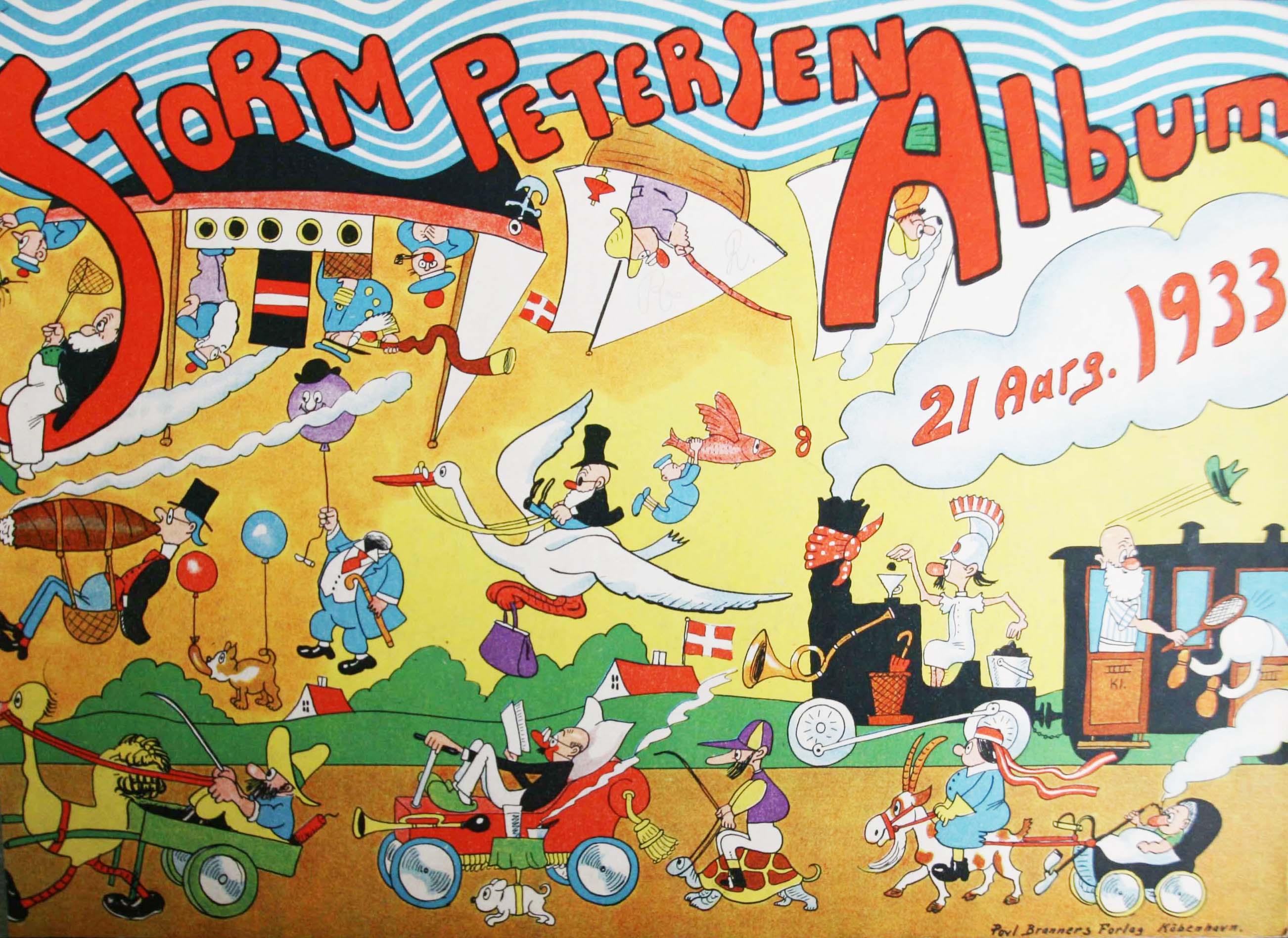 Robert Storm Petersen Storm P. Album 1933