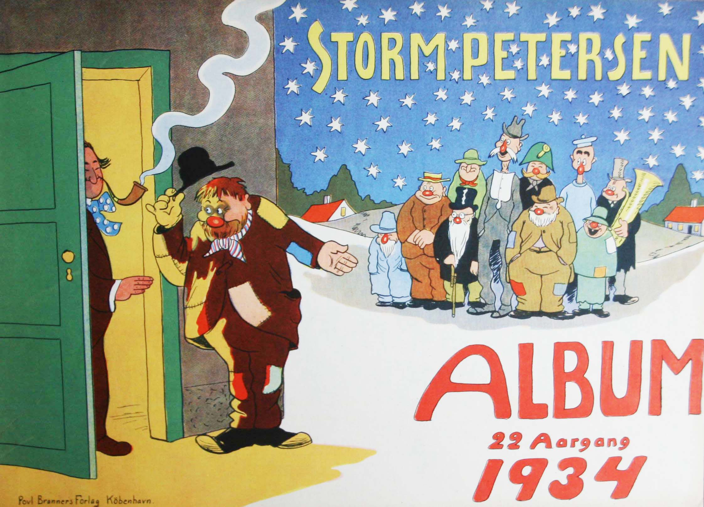 Robert Storm Petersen Storm P. Album 1934