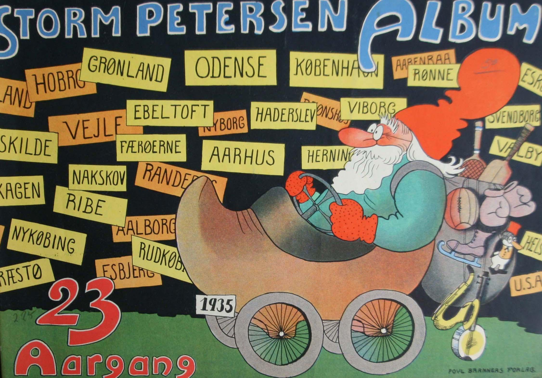 Robert Storm Petersen Storm P. Album 1935