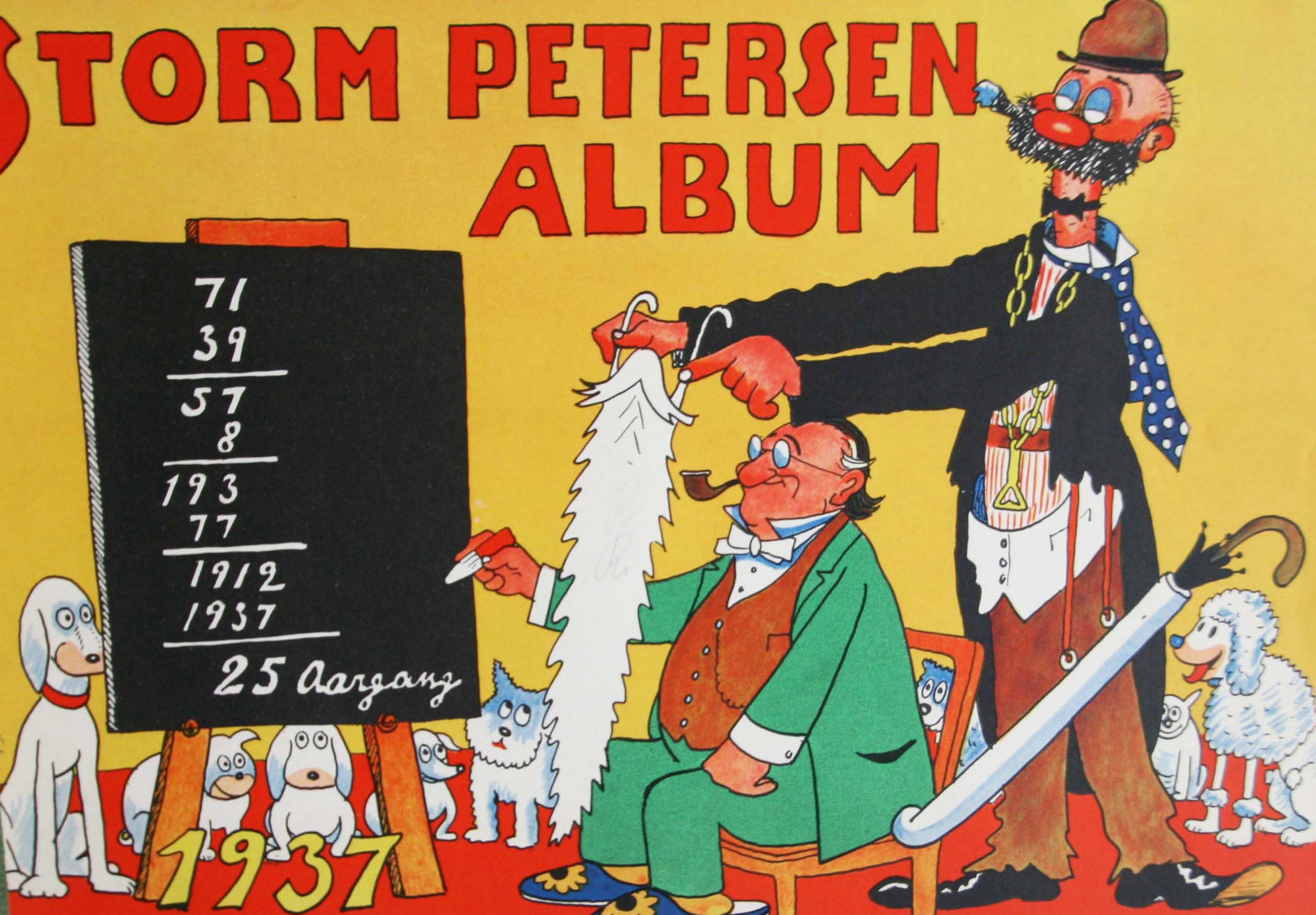Robert Storm Petersen Storm P. Album 1937