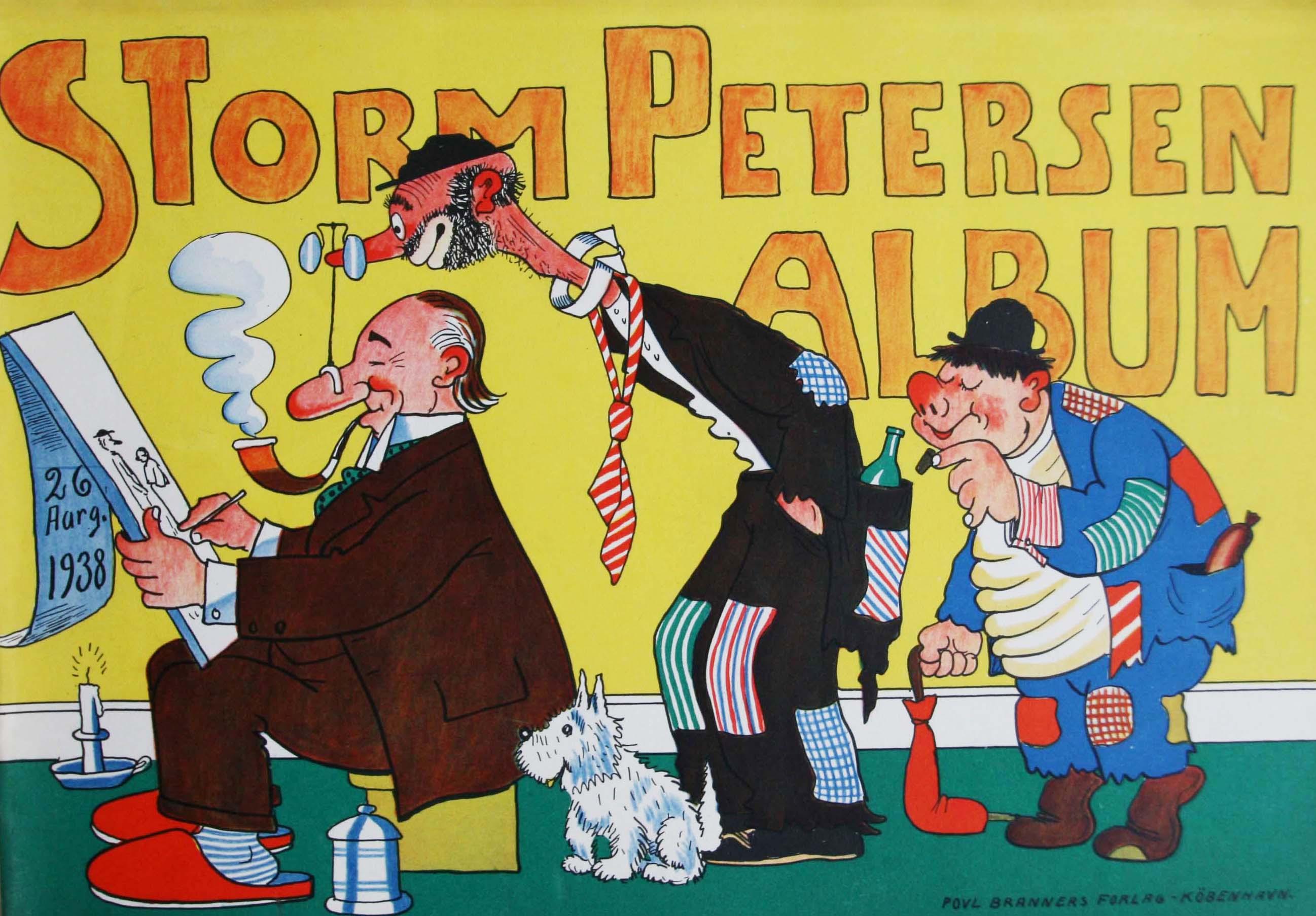 Robert Storm Petersen Storm P. Album 1938