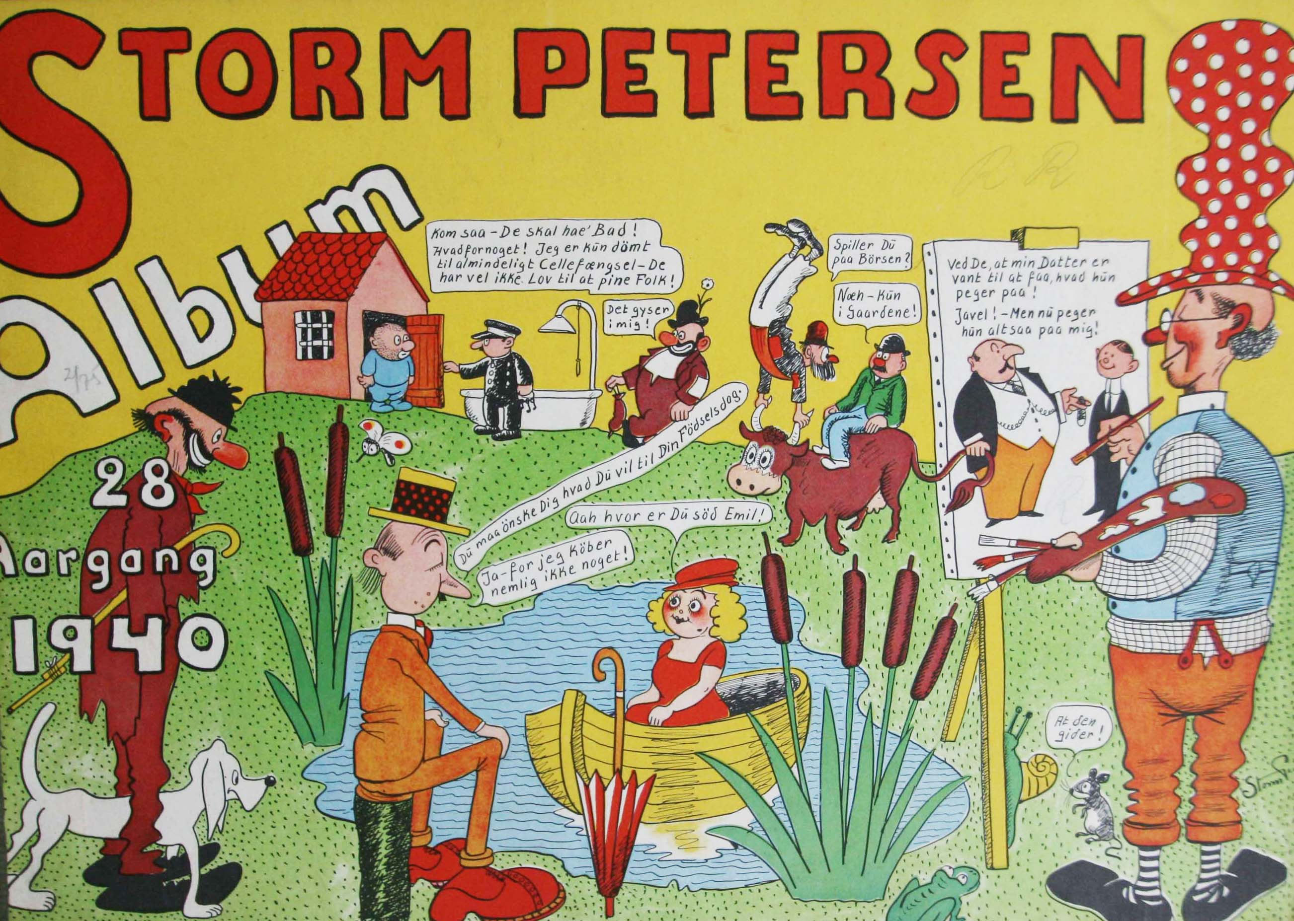 Robert Storm Petersen Storm P. Album 1940