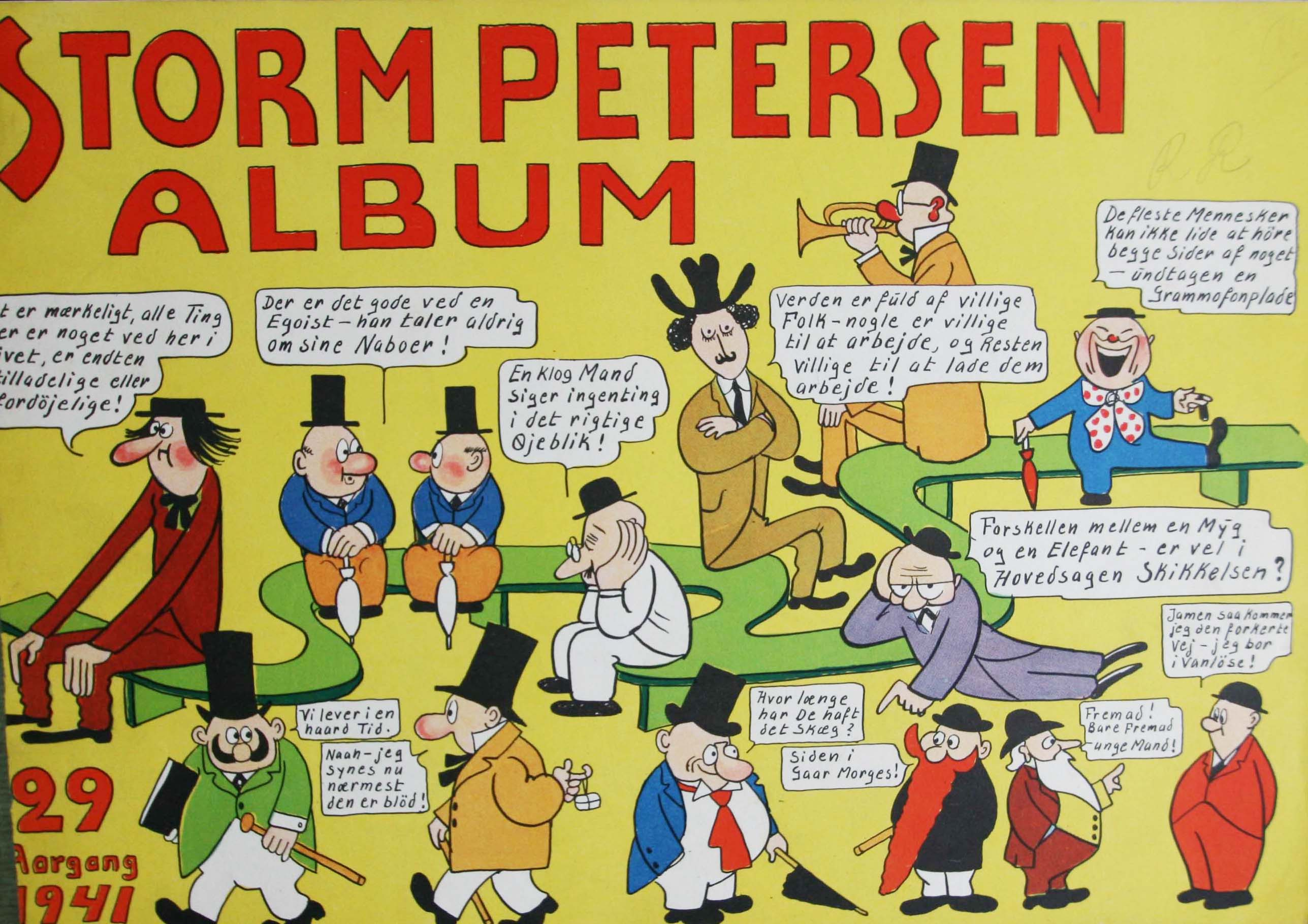 Robert Storm Petersen Storm P. Album 1941