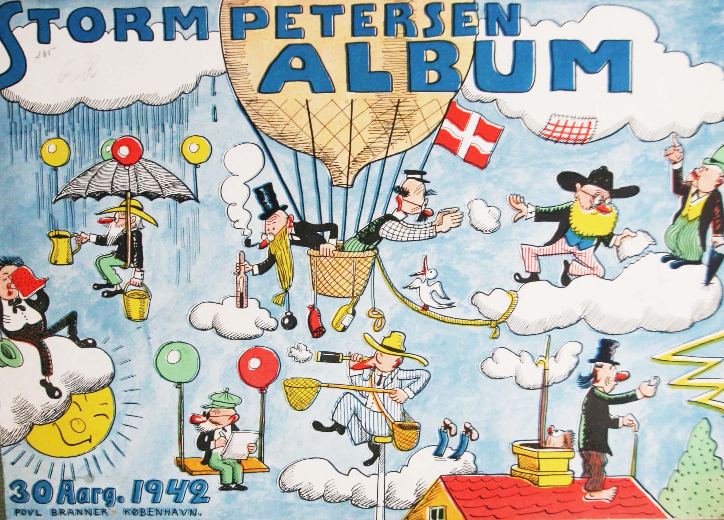 Robert Storm Petersen Storm P. Album 1942