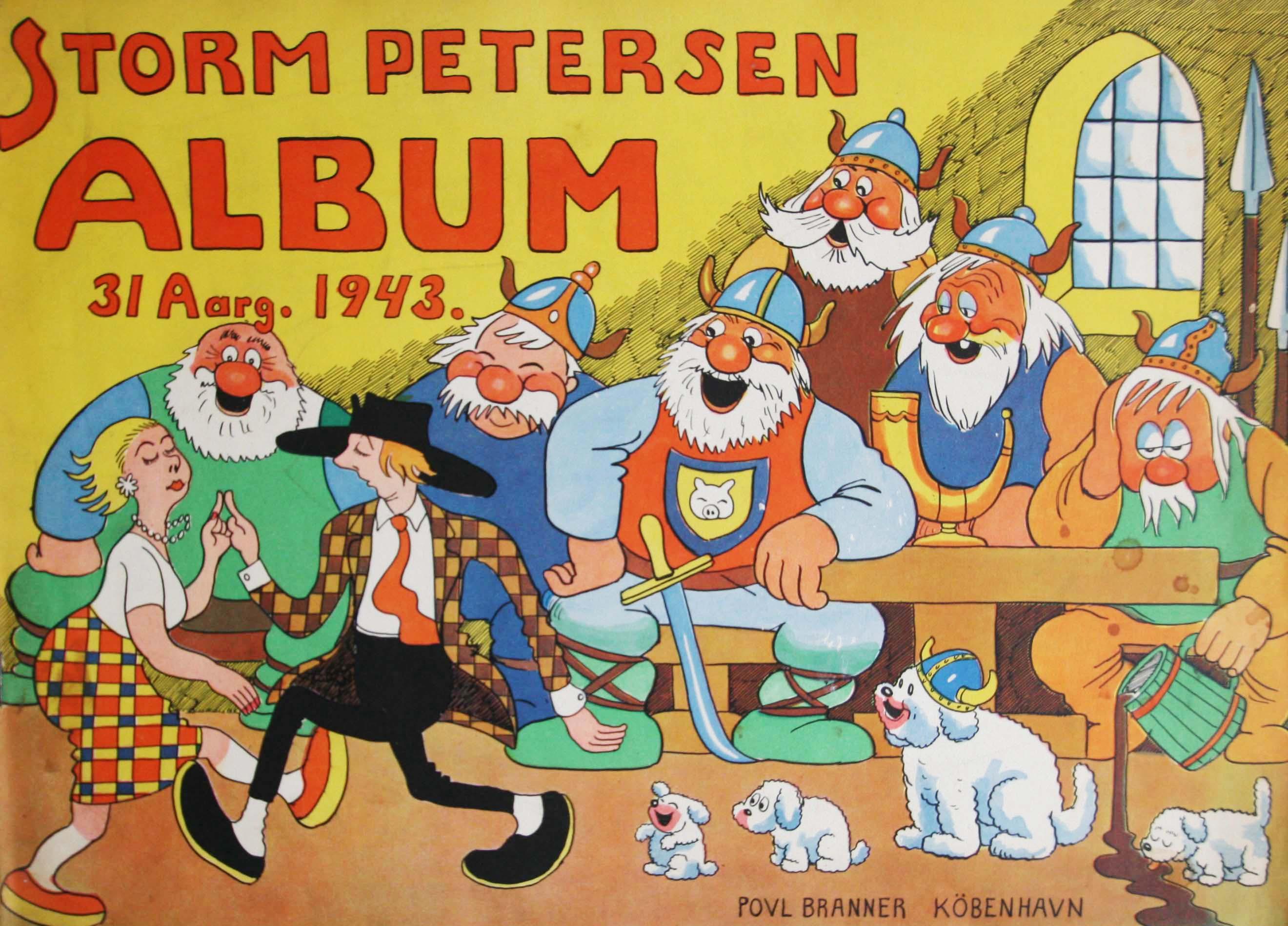 Robert Storm Petersen Storm P. Album 1943