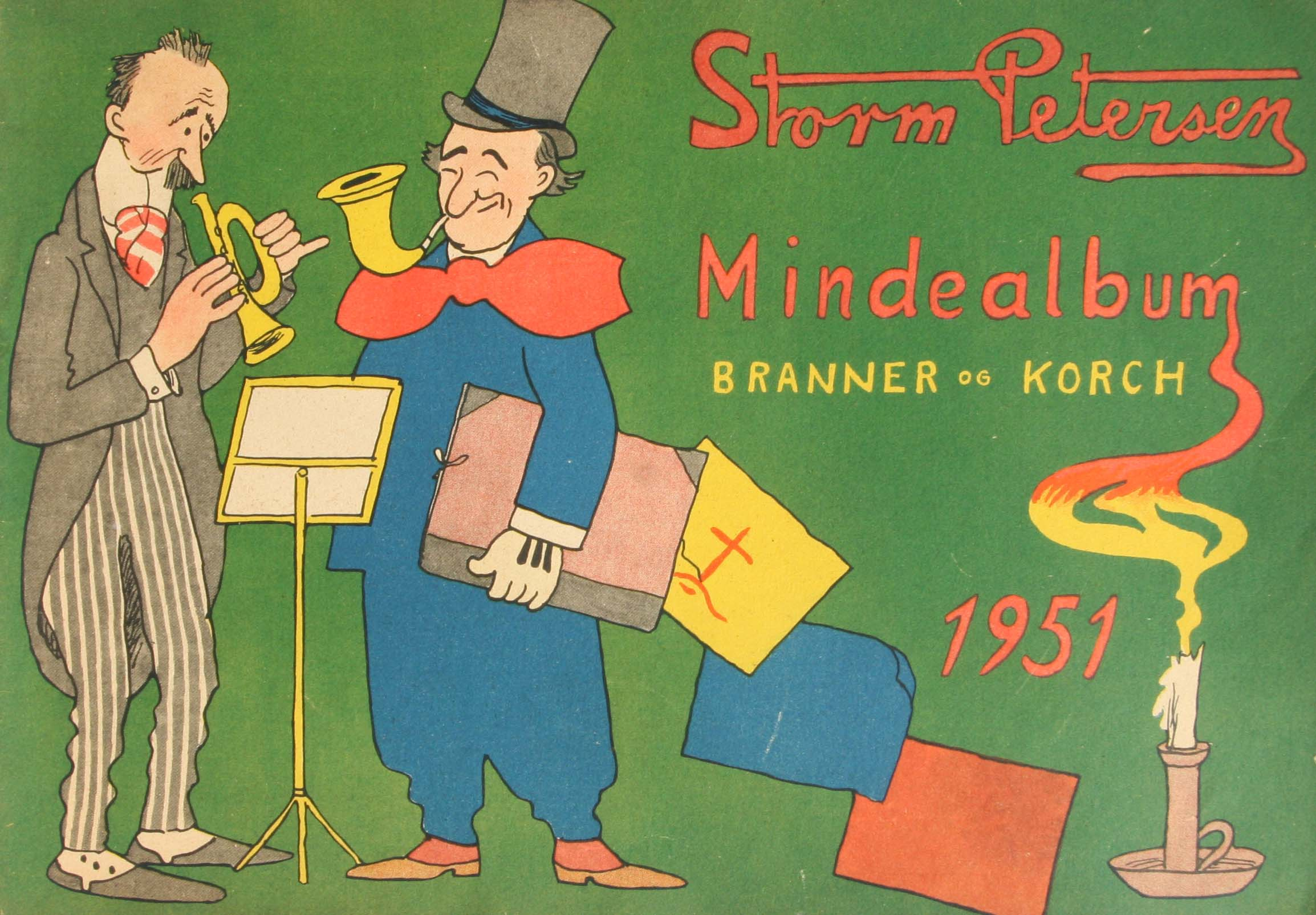 Robert Storm Petersen Storm P. Album 1951 mindealbum