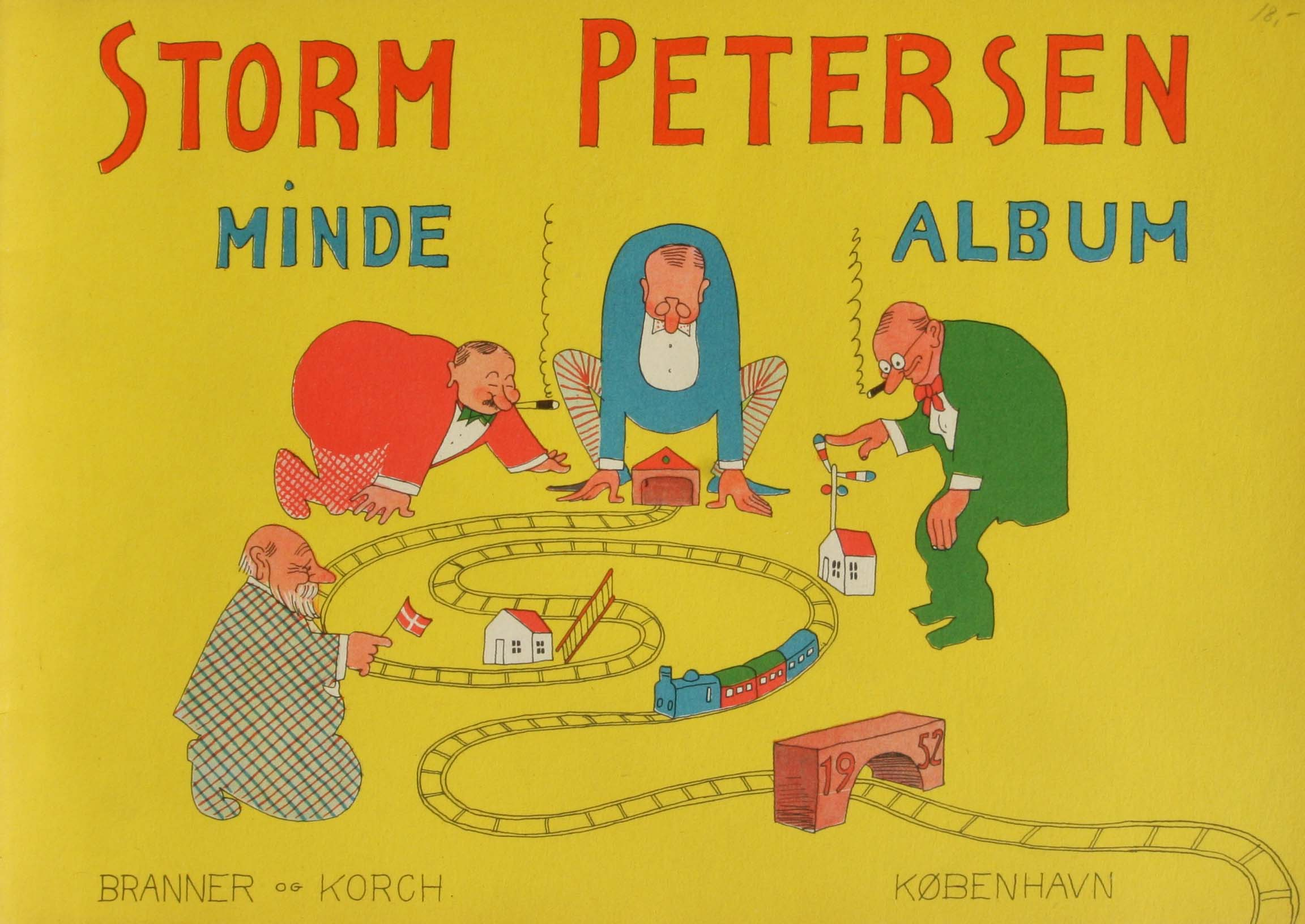 Robert Storm Petersen Storm P. Album 1952 mindealbum