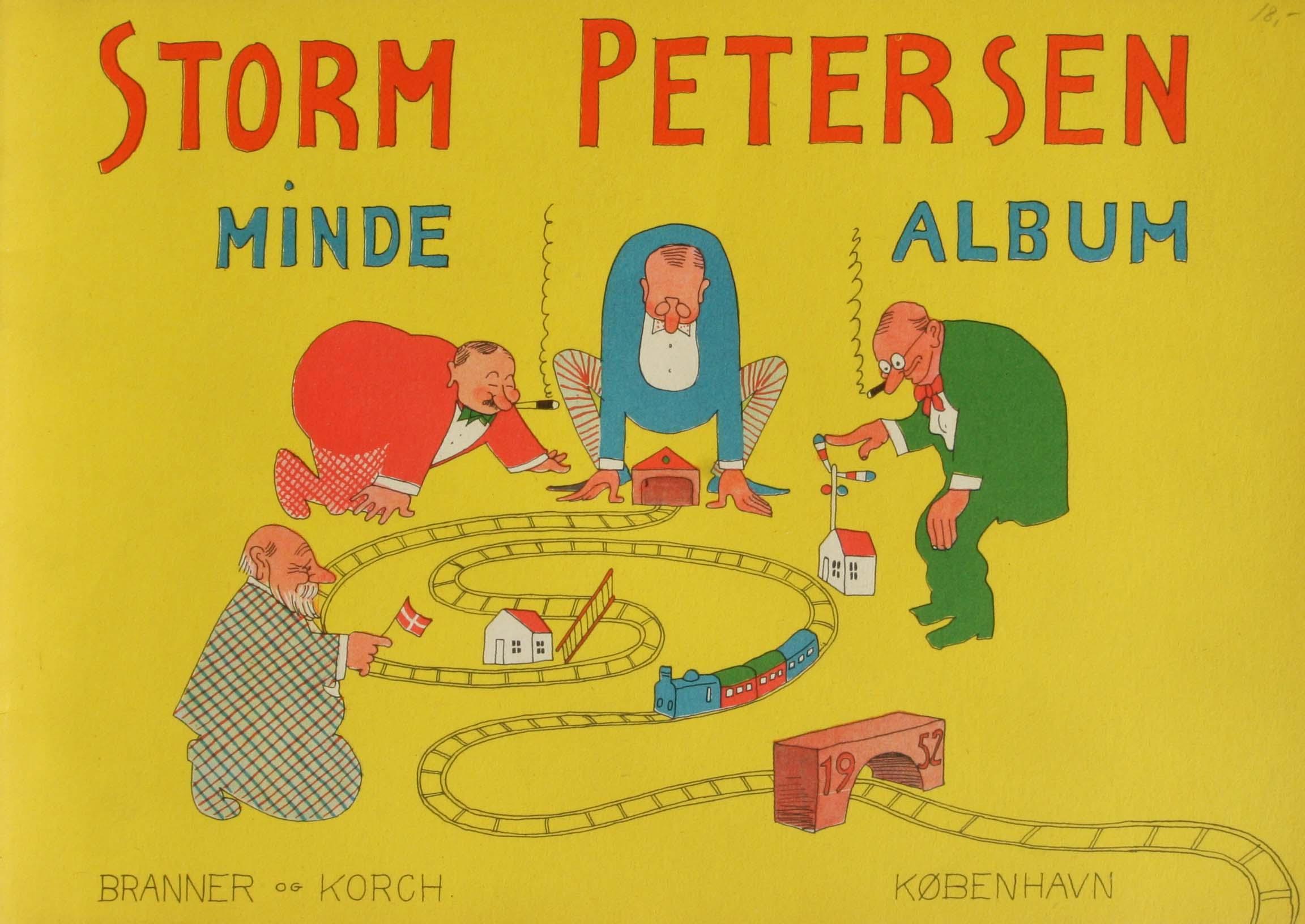 Robert Storm Petersen Storm P. Album 1952 mindealbum