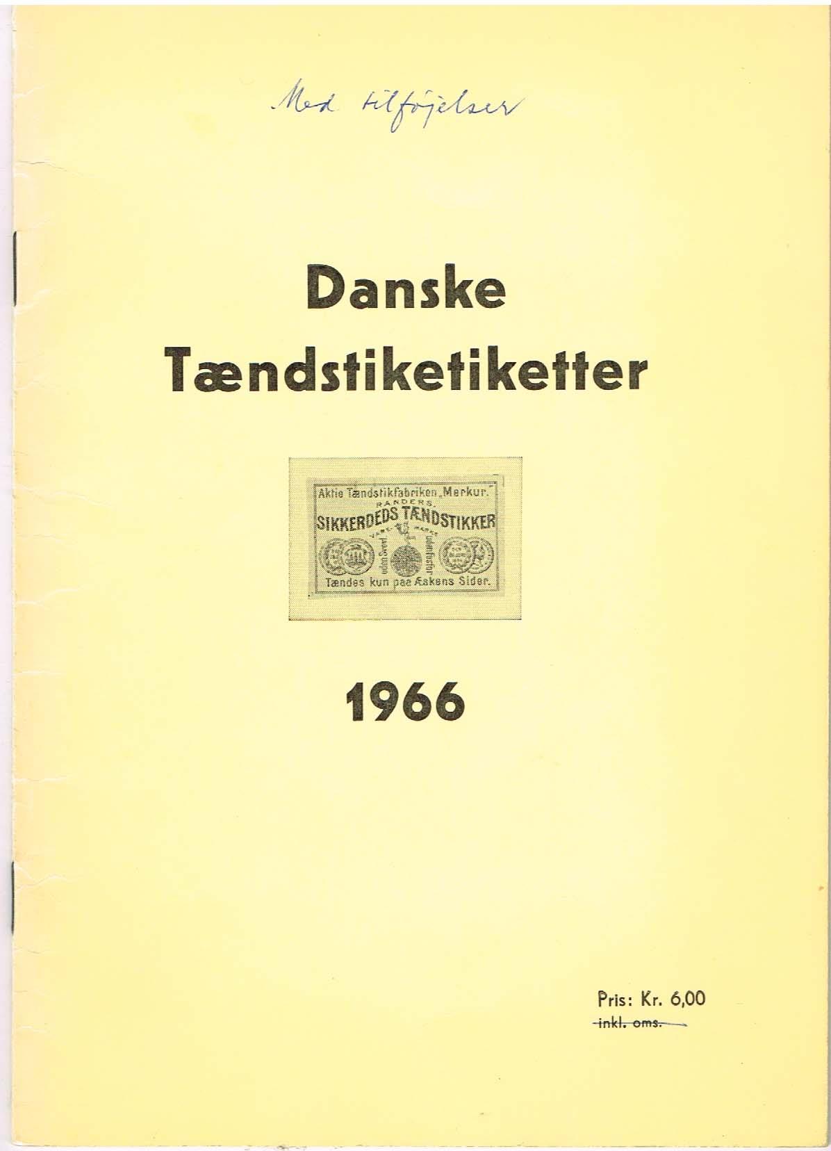 danske tændstiketiketter