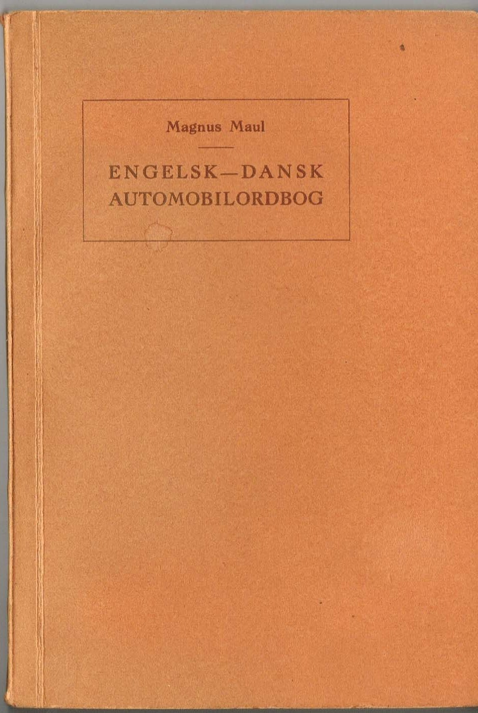 automobil ordbog