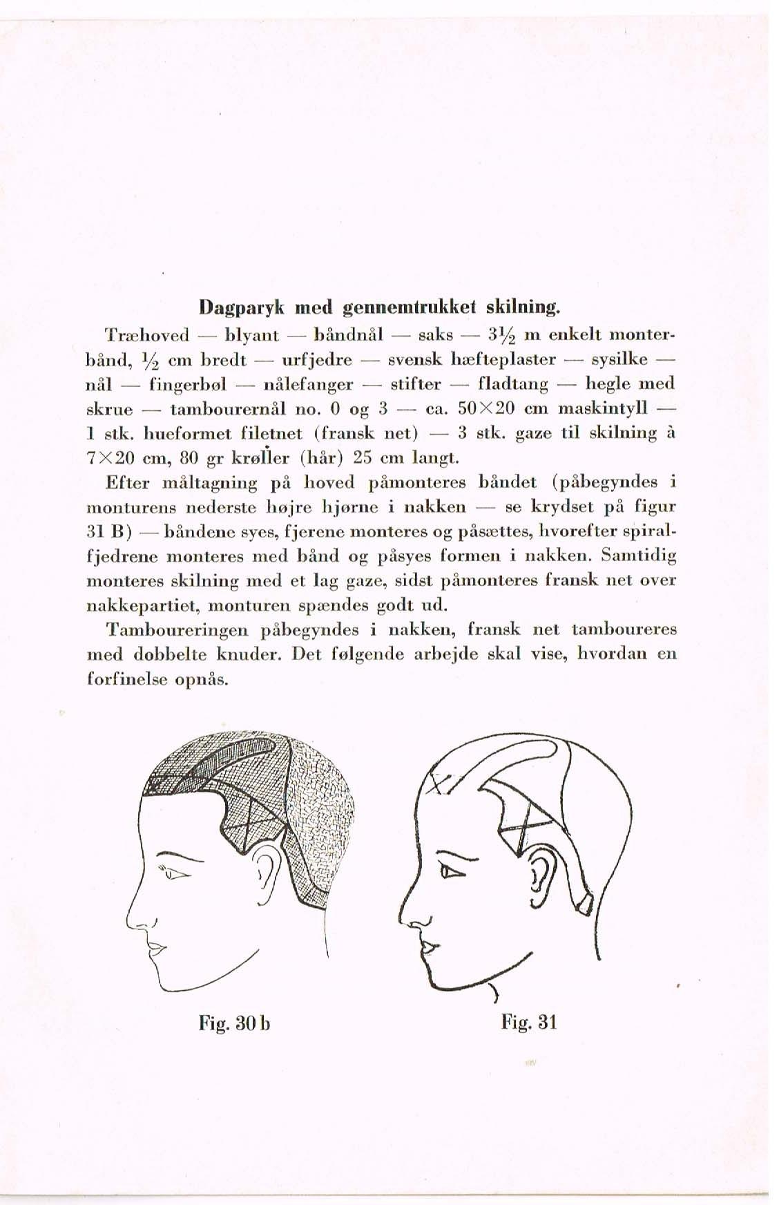 frisør erhvervet parykmagerklasse 1