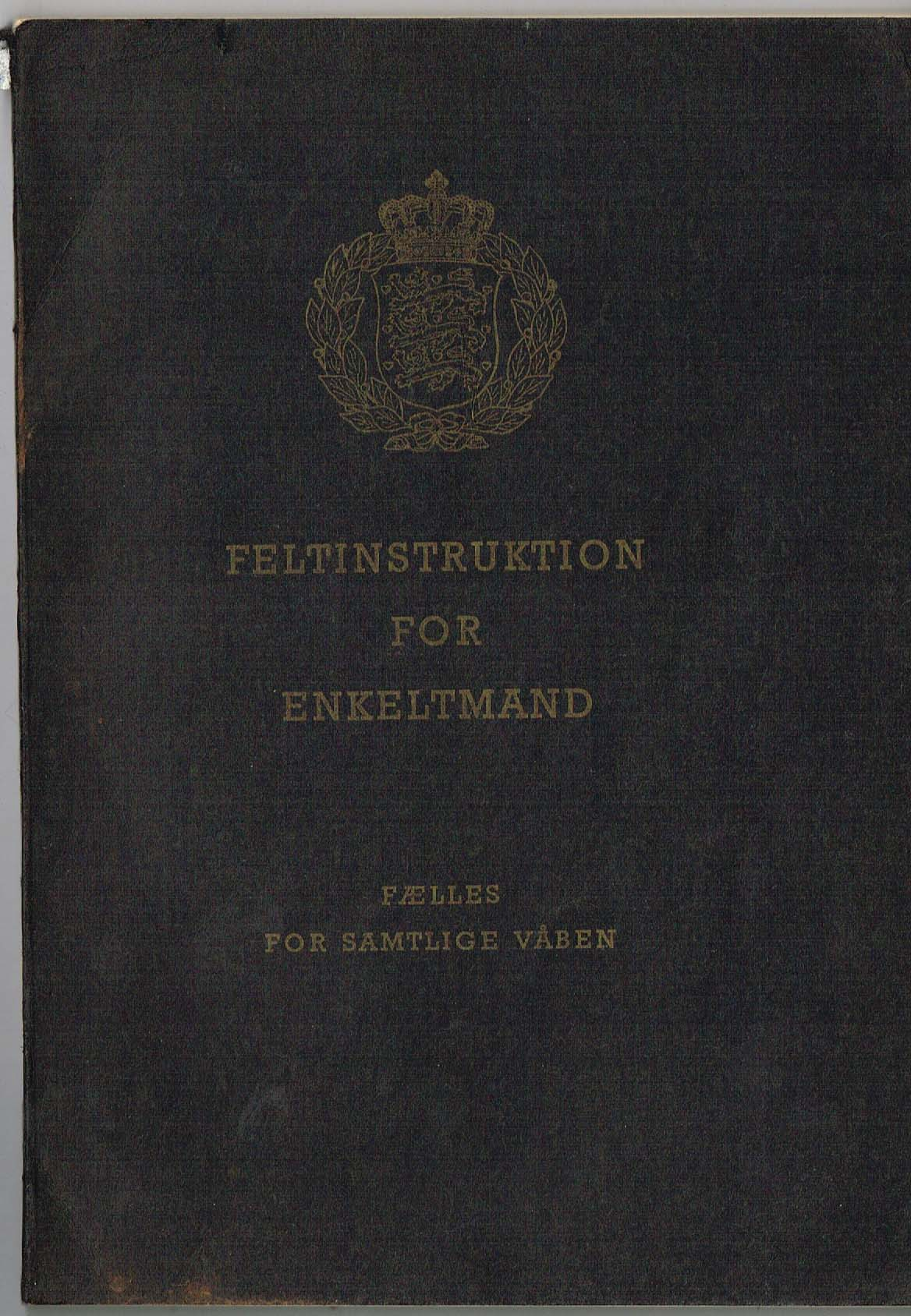 feltinstruktion for enkeltmand