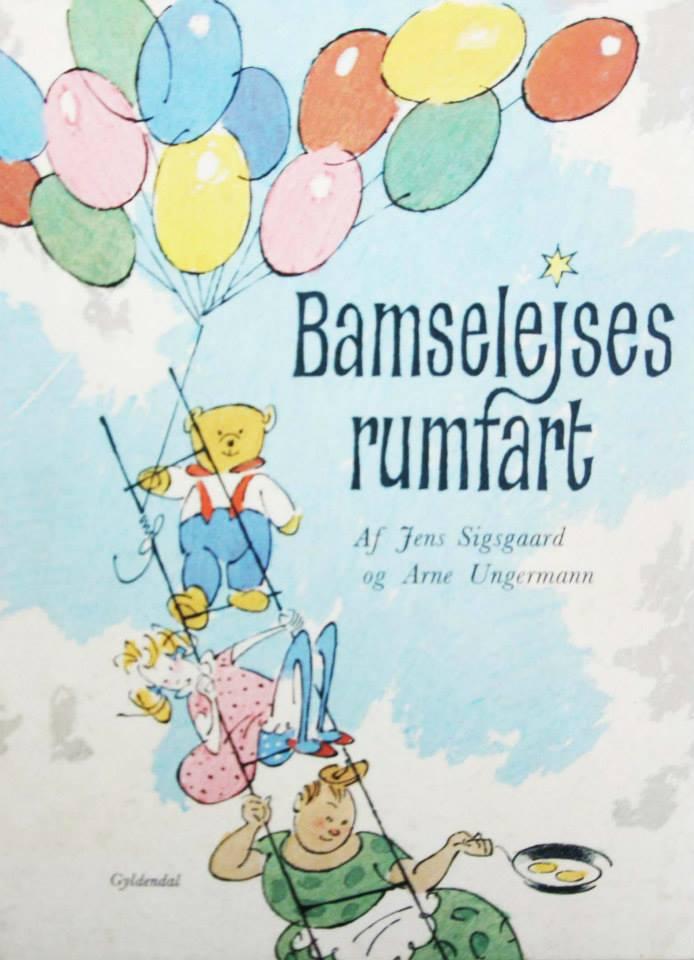 Bamseleises rumfart Arne Ungermann billedbog