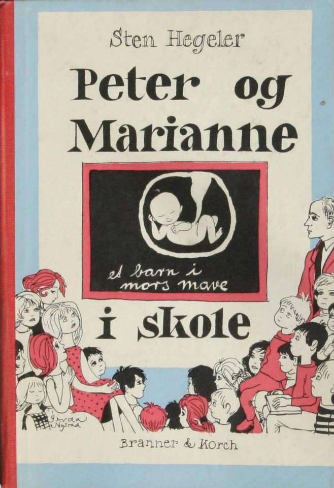 Sten Hegeler Peter og Marianne i skole