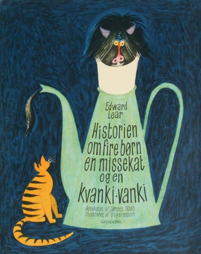 Edward Lear - Historien om fire børn. Illustreret af Arne Ungermann gendigtet af Jørgen Nash
