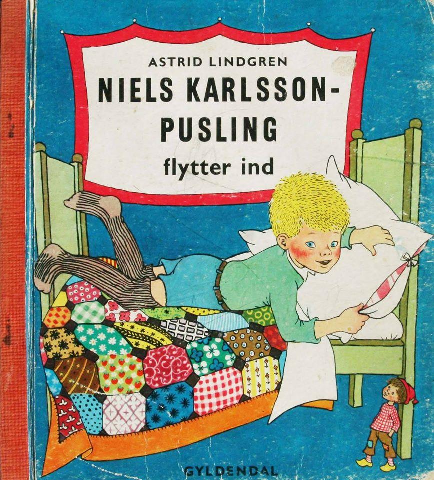 Astrid Lindgren Niels Karlsson-Pusling flytter ind