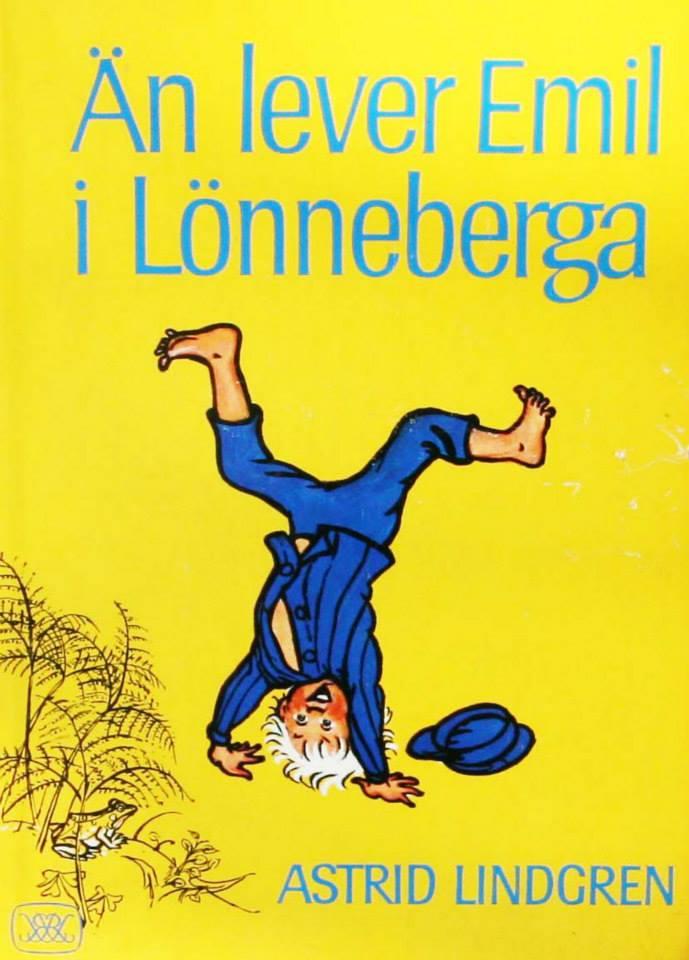 Astrid Lindgren Emil fra Lønneberg svensk originaludgave med dedikation