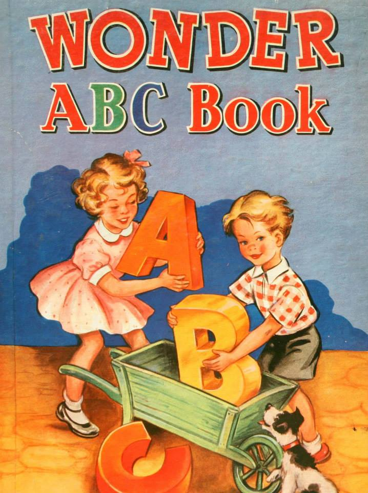 Wonder ABC book billedbog