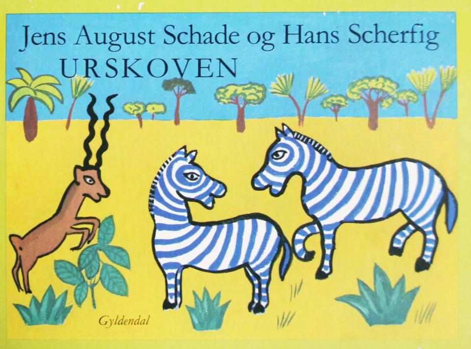 Jens August Schade og Hans Scherfig Urskoven billedbog