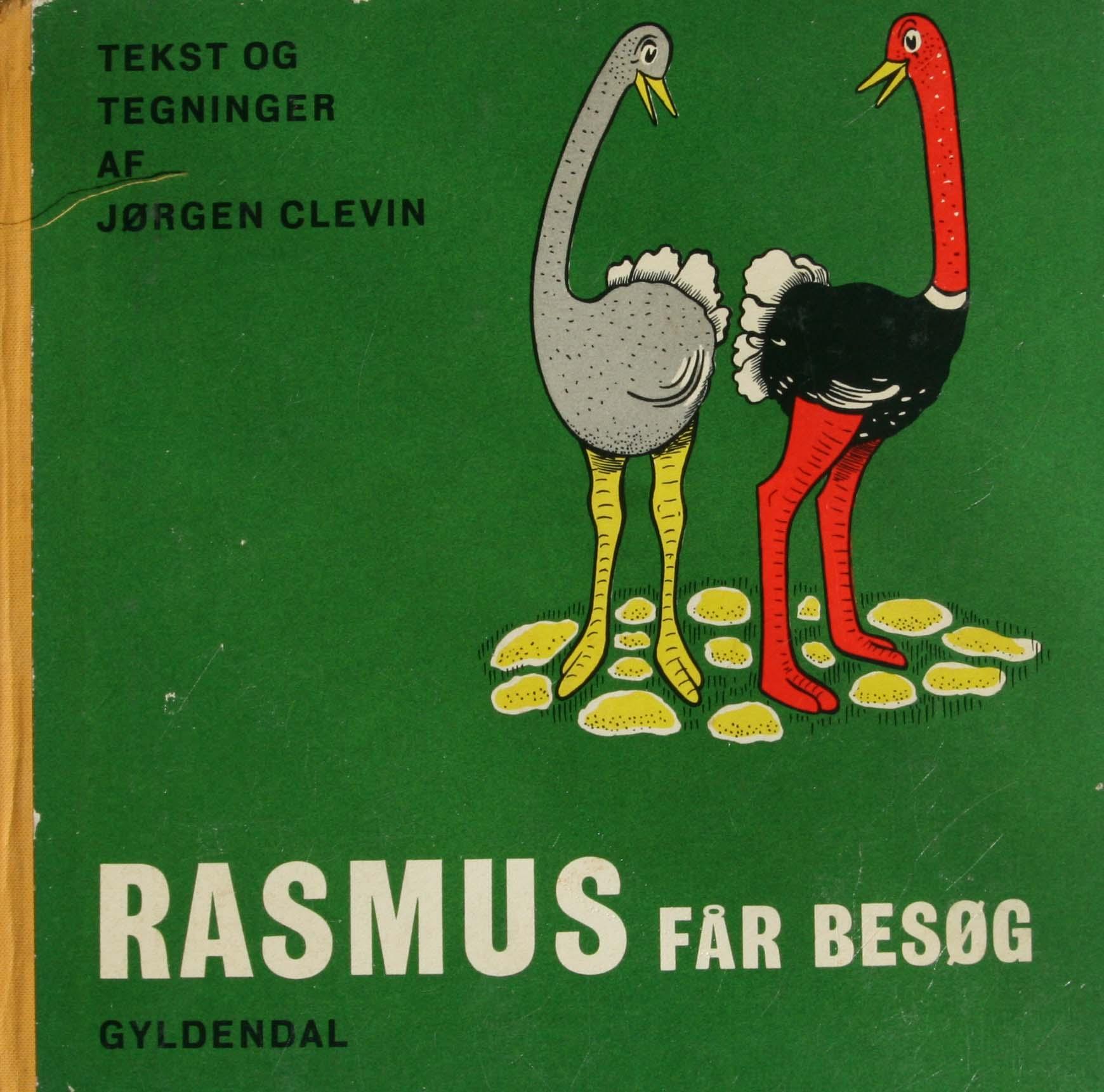 Jørgen Clevin Rasmus billedbog