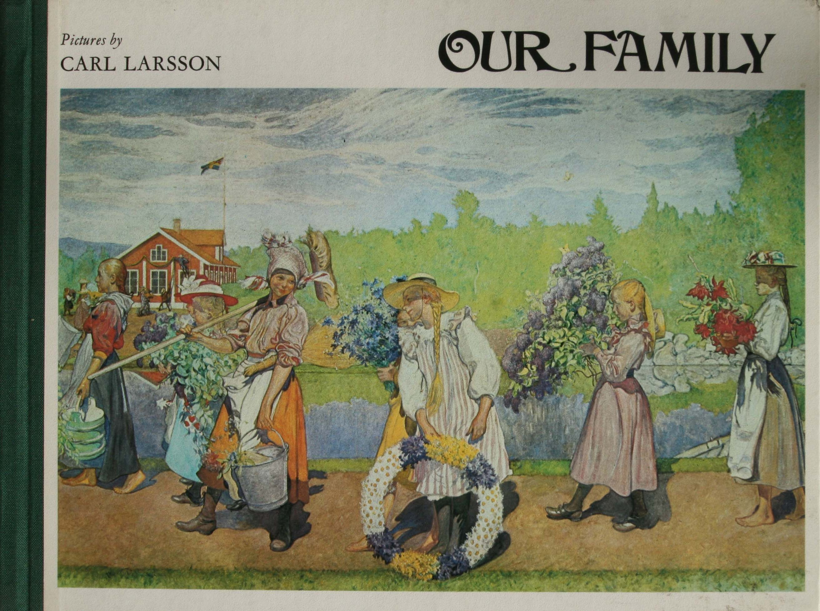 Carl Larsson billedbog