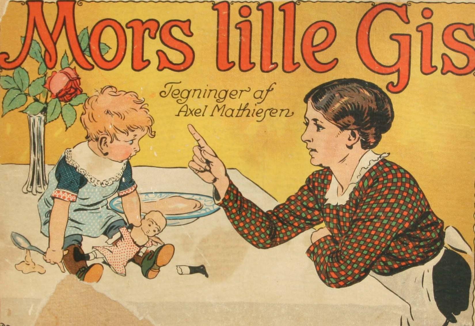 Mors lille gis - billedbog