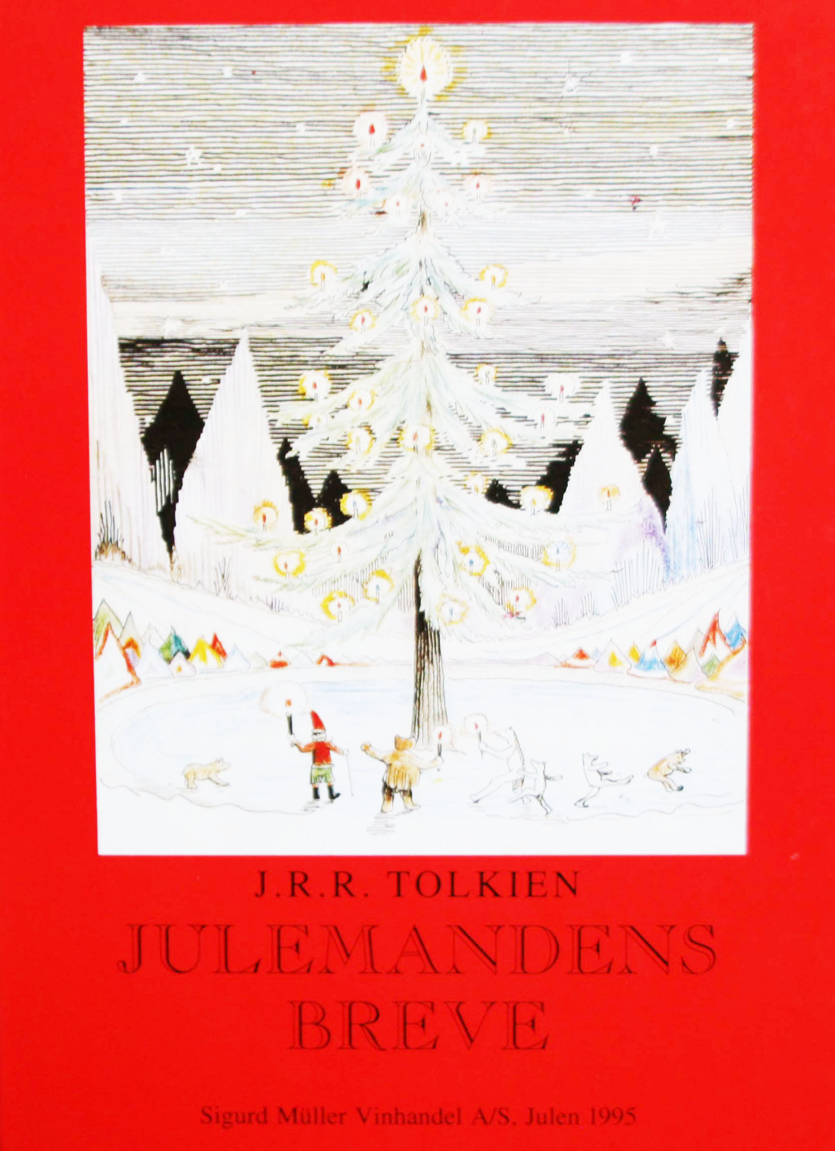 J R R Tolkien Julemandens breve