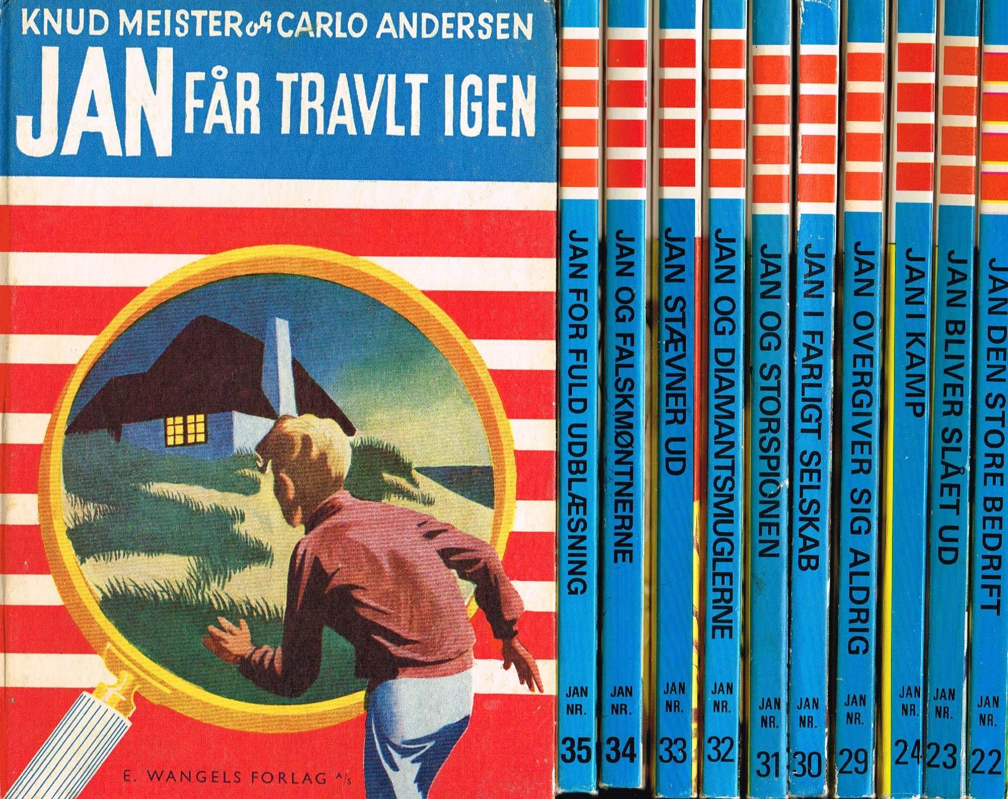 Jan-bøgerne Knud Meister og Carlo Andersen