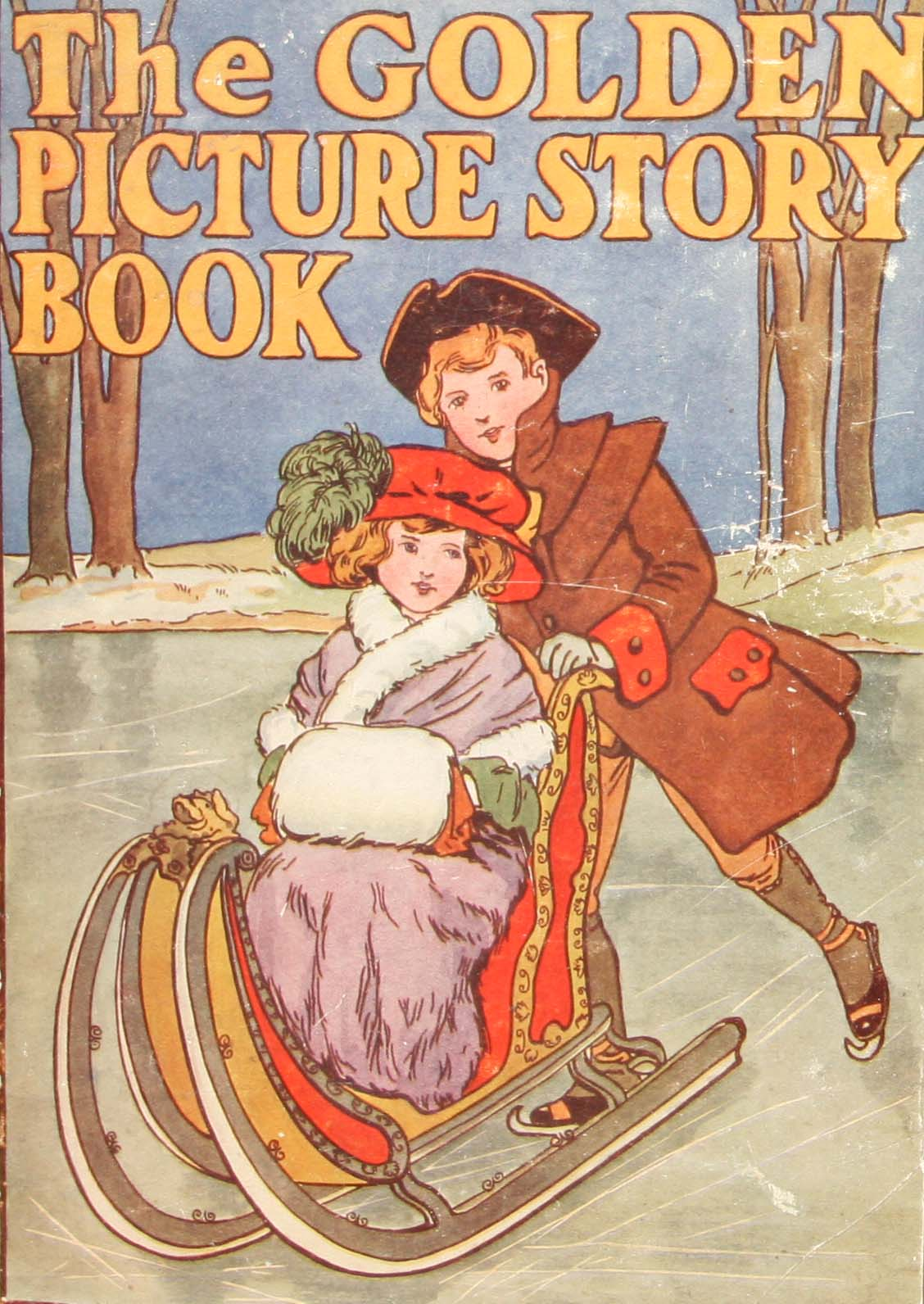 Golden picture story book