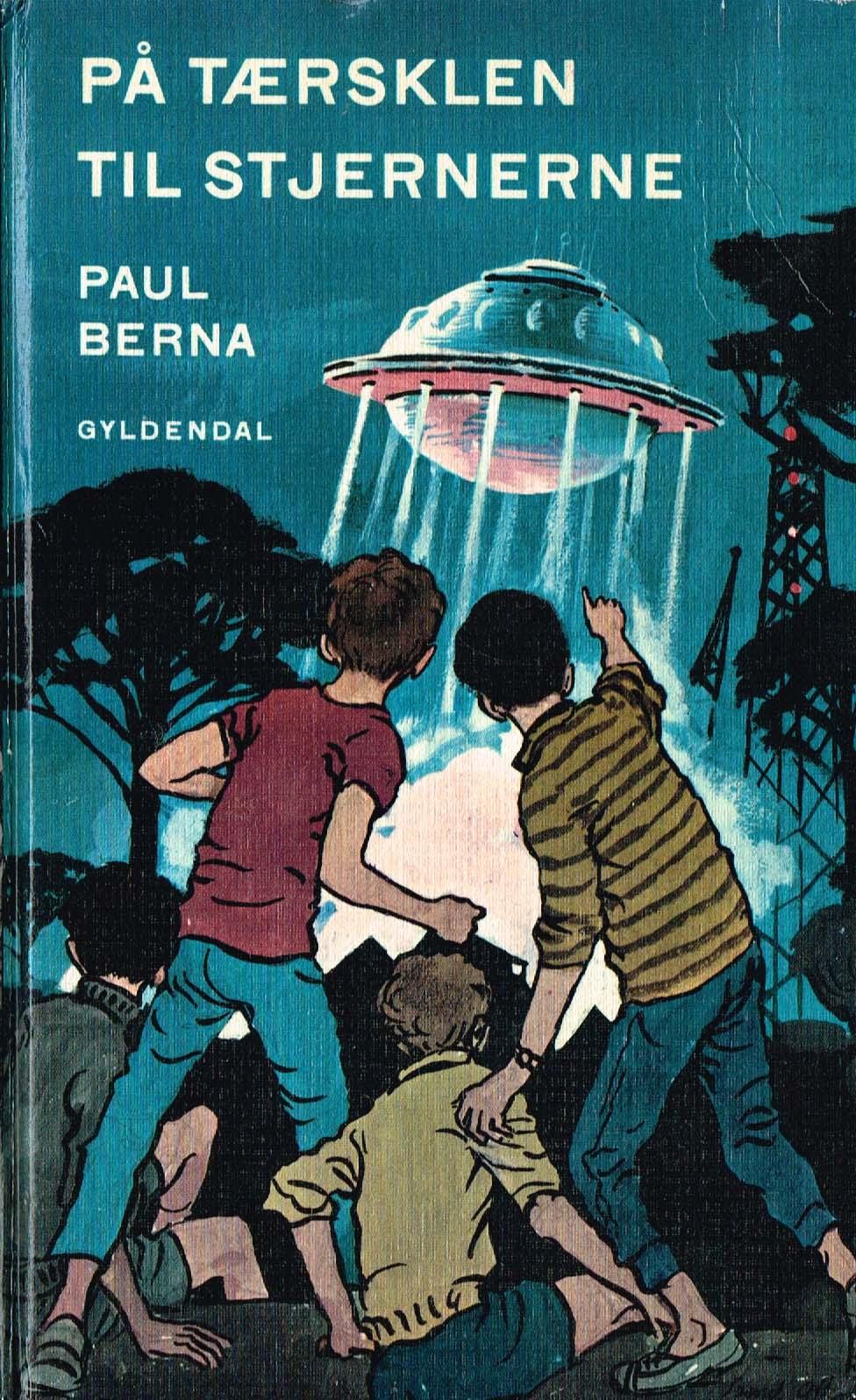 Paul Berna På tærsklen til stjernerne science fiction børnebog