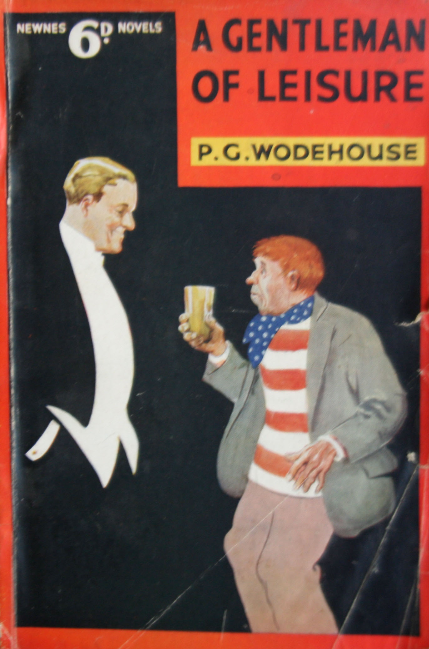P G Wodehouse A Gentleman of leisure