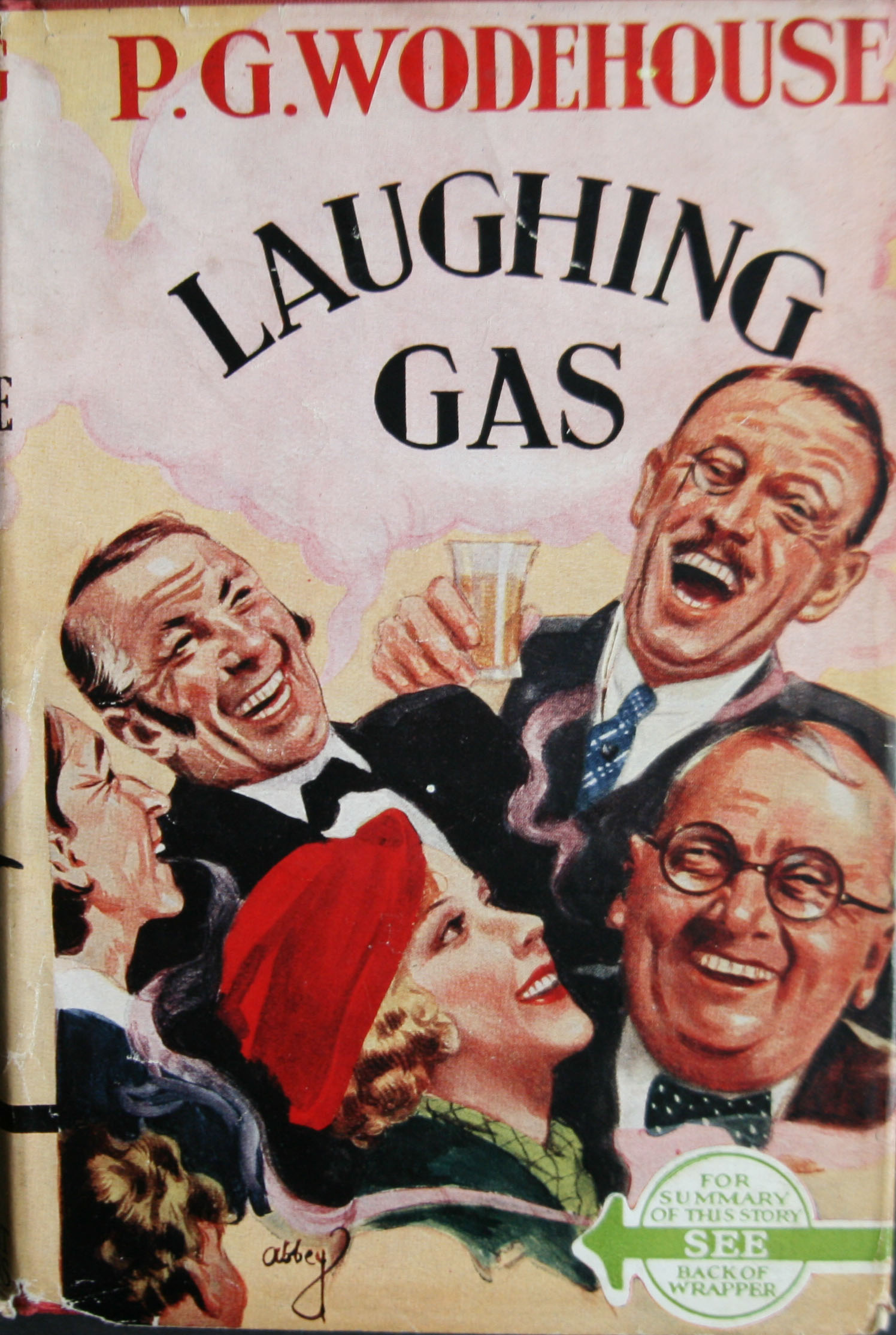 P G Wodehouse Laughing Gas