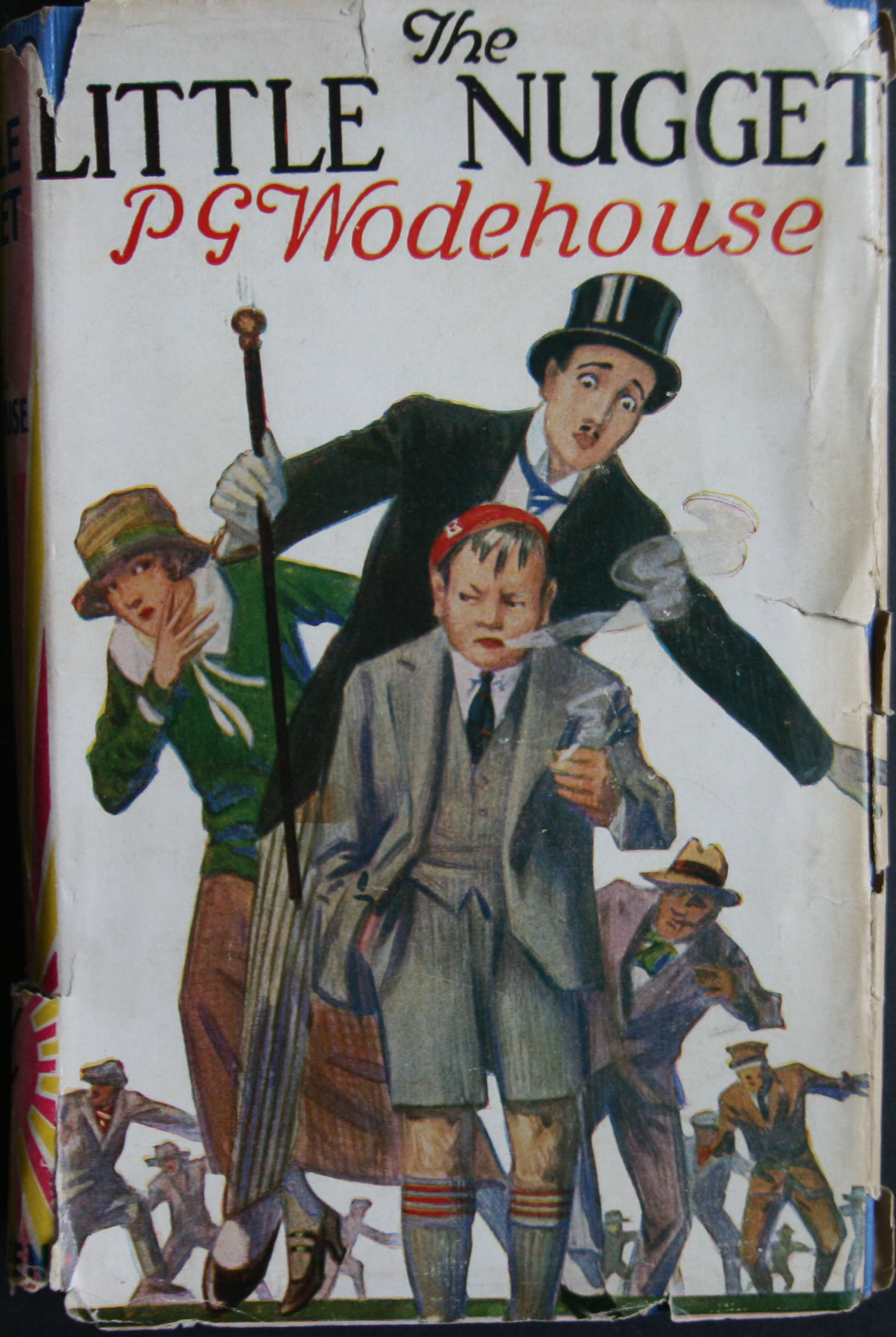 p g wodehouse the little nugget