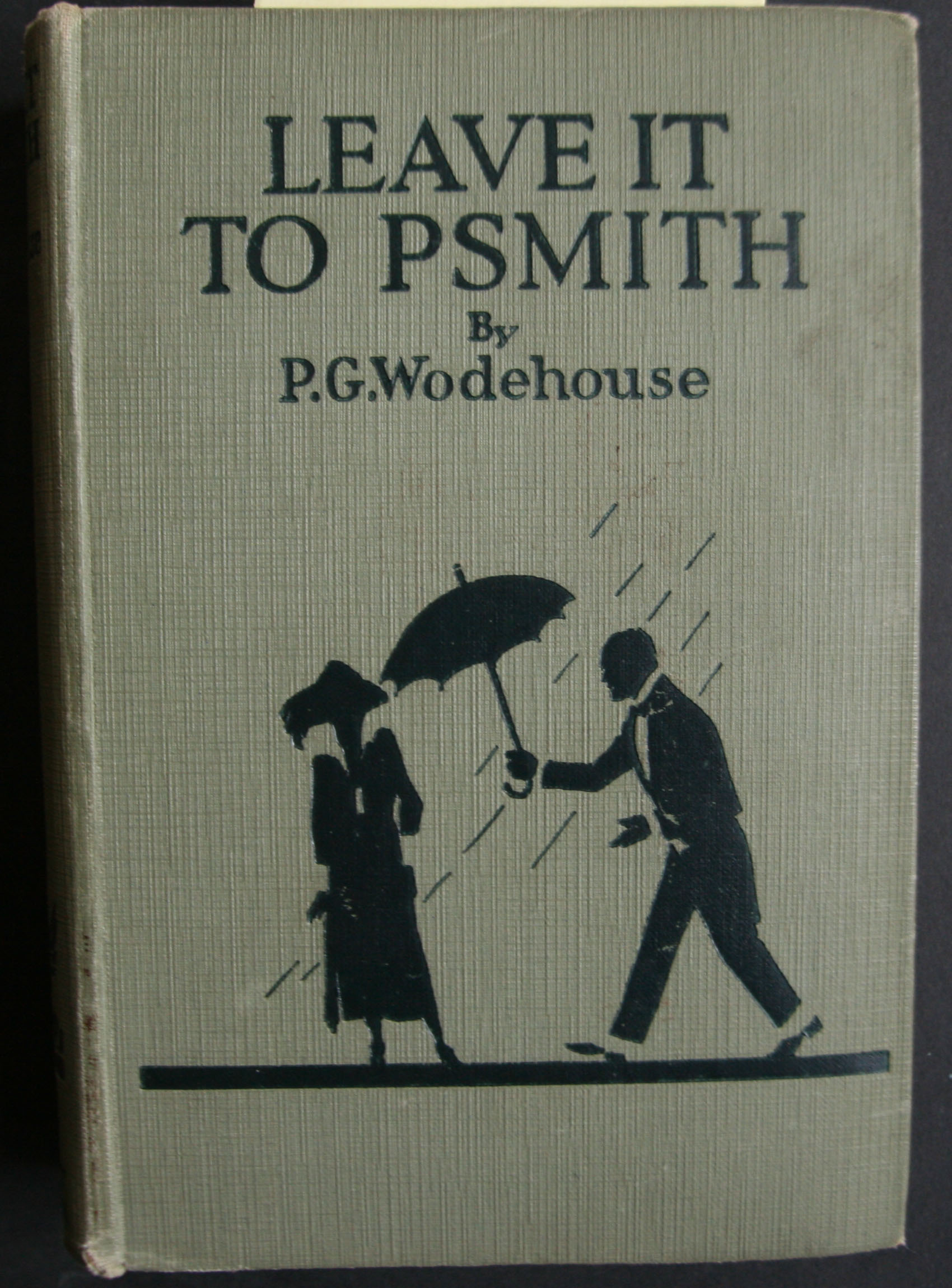 p g wodehouse leave it to psmith