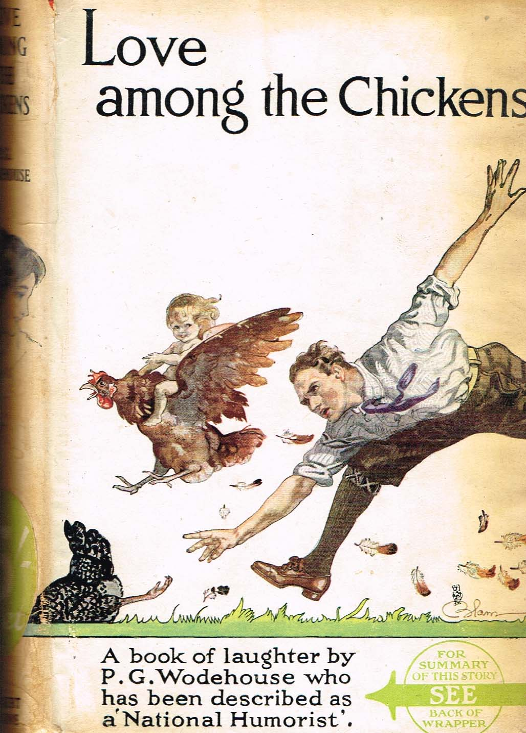 P G Wodehouse Love among the chickens