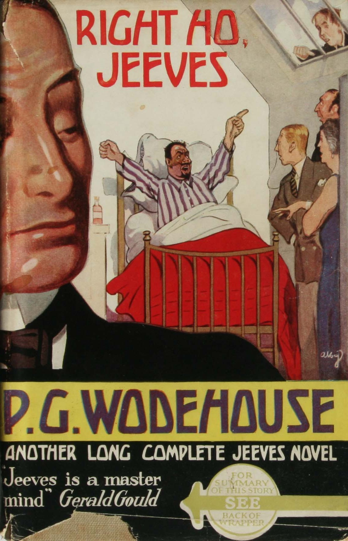 p g wodehouse right ho jeeves