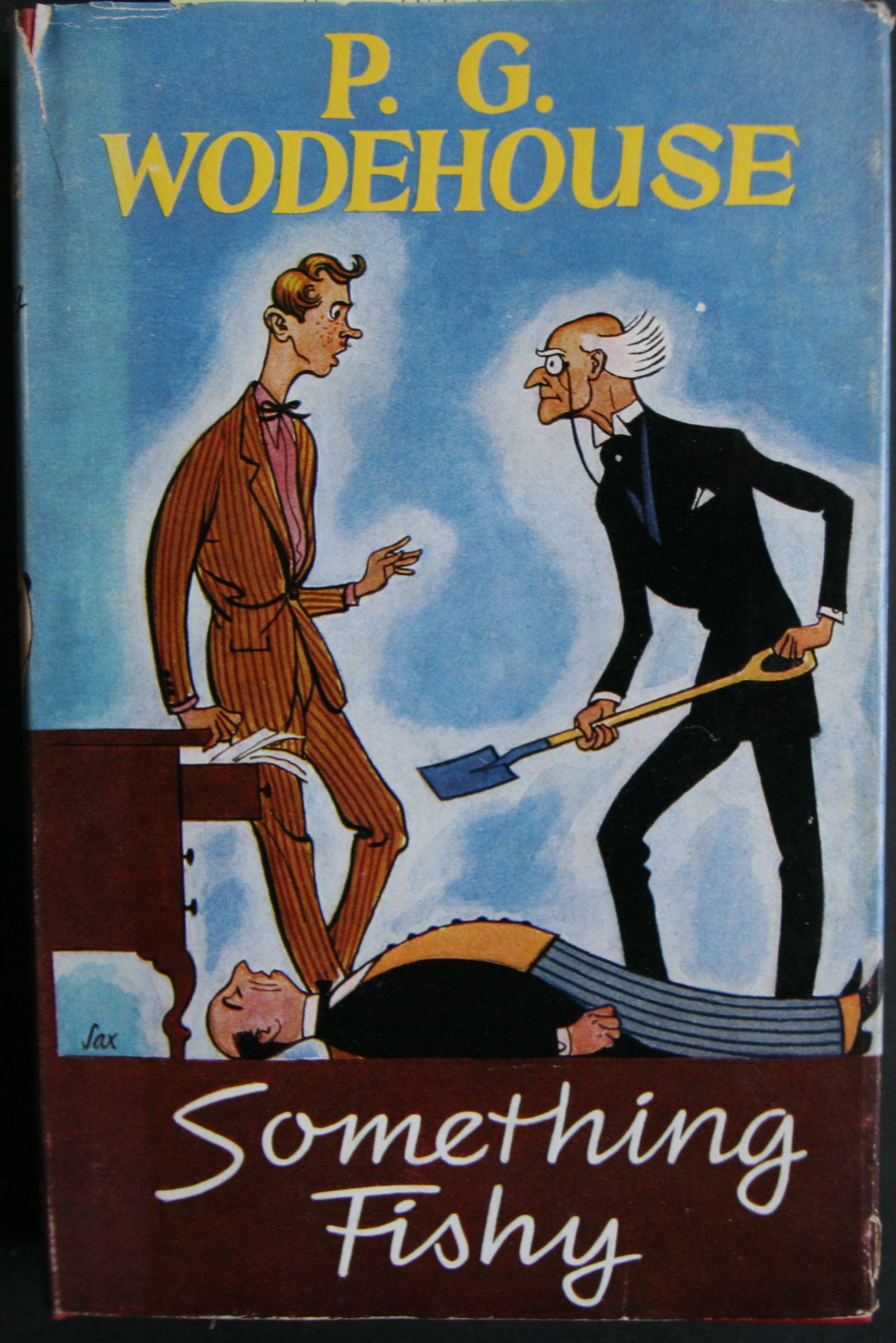 p g wodehouse something fishy